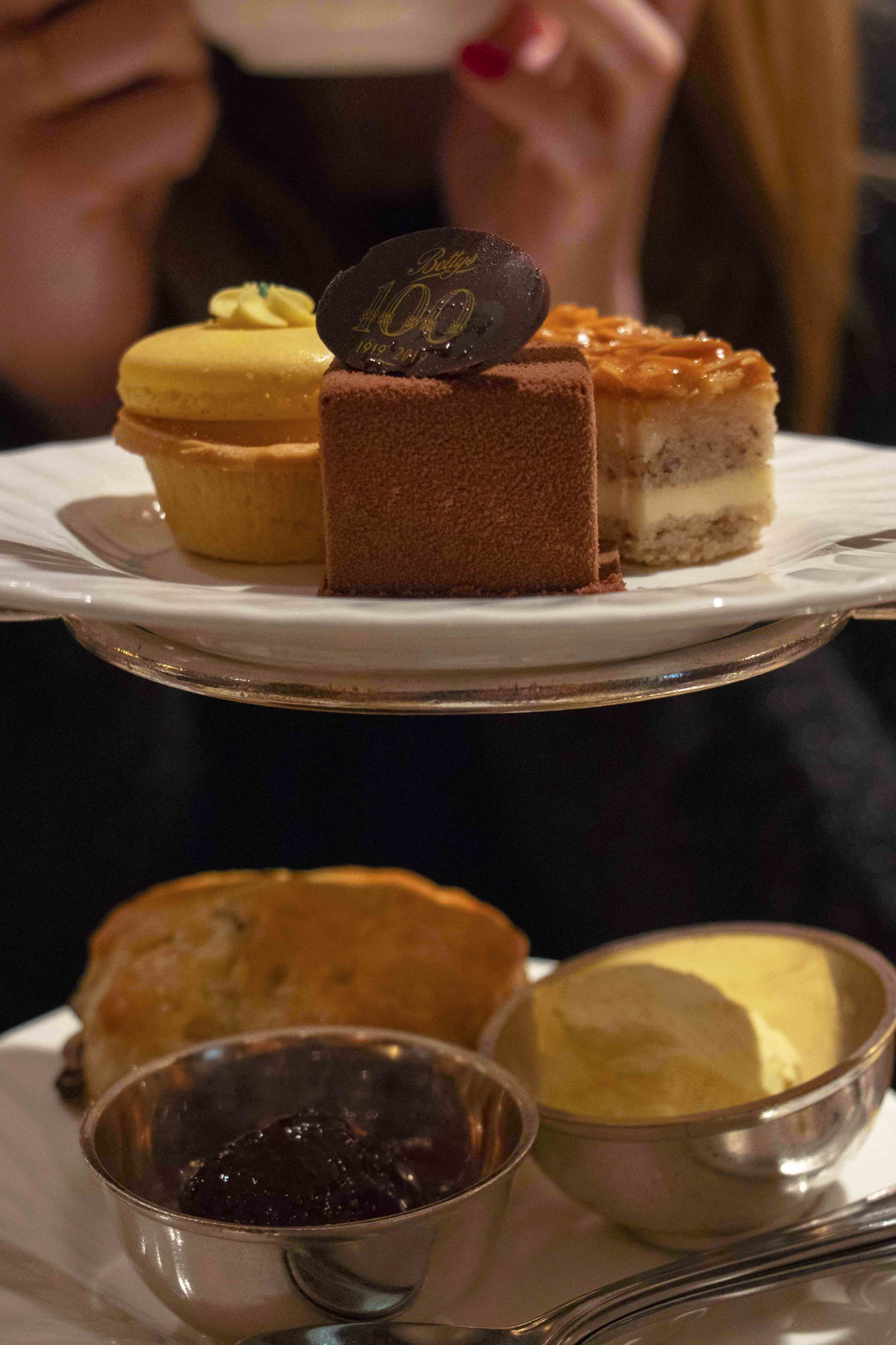 Afternoon tea at Betty's, York