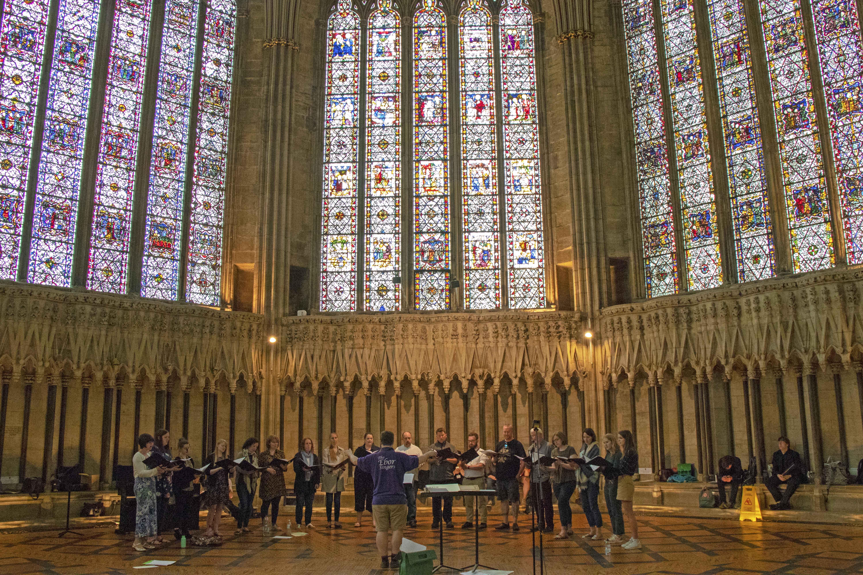 Choir in York Minster