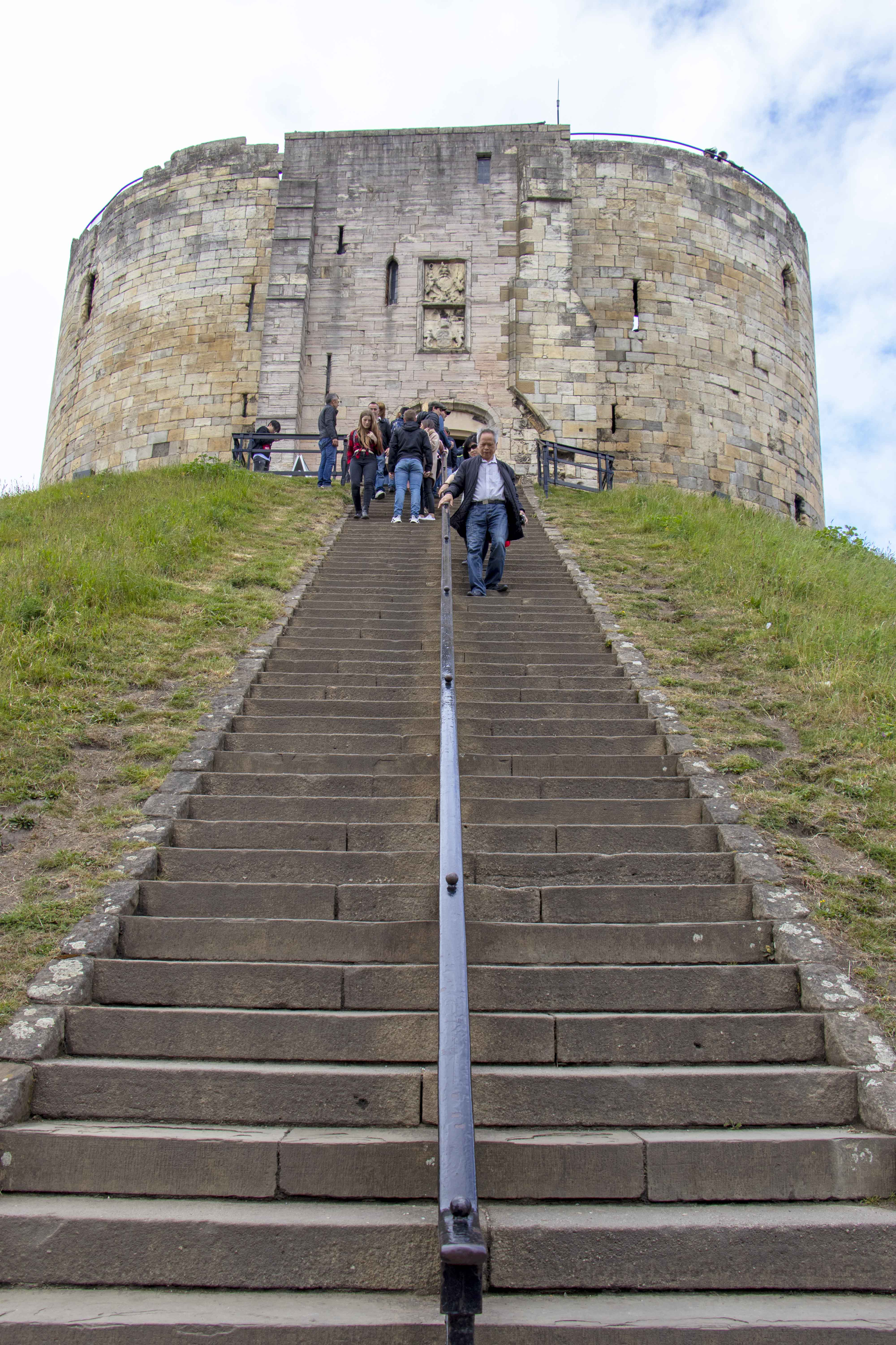 Clifford's Tower stairs