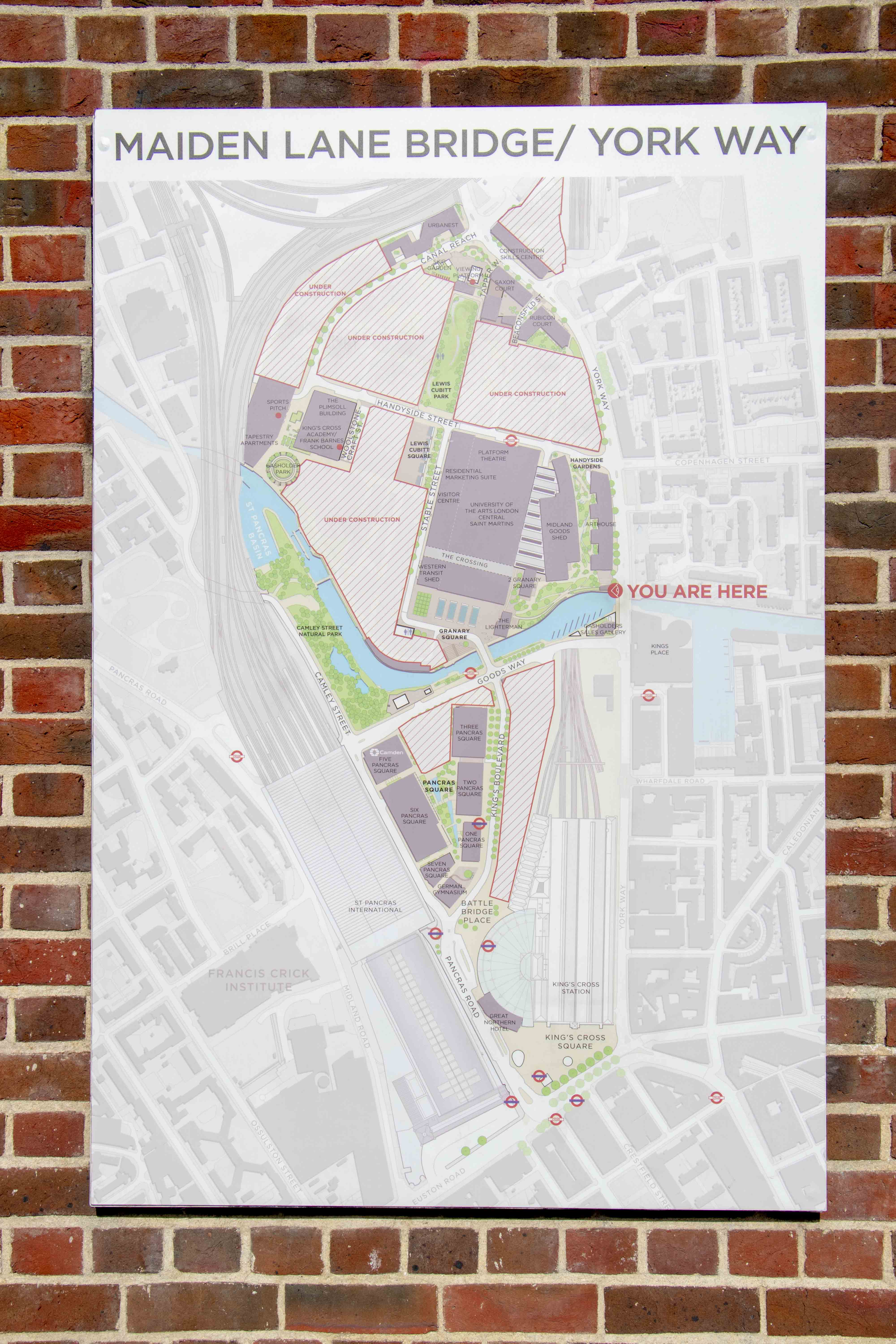 Granary square map