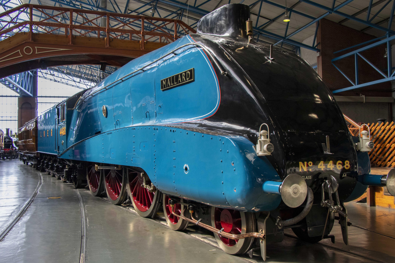 Mallard train at the National Train Museum