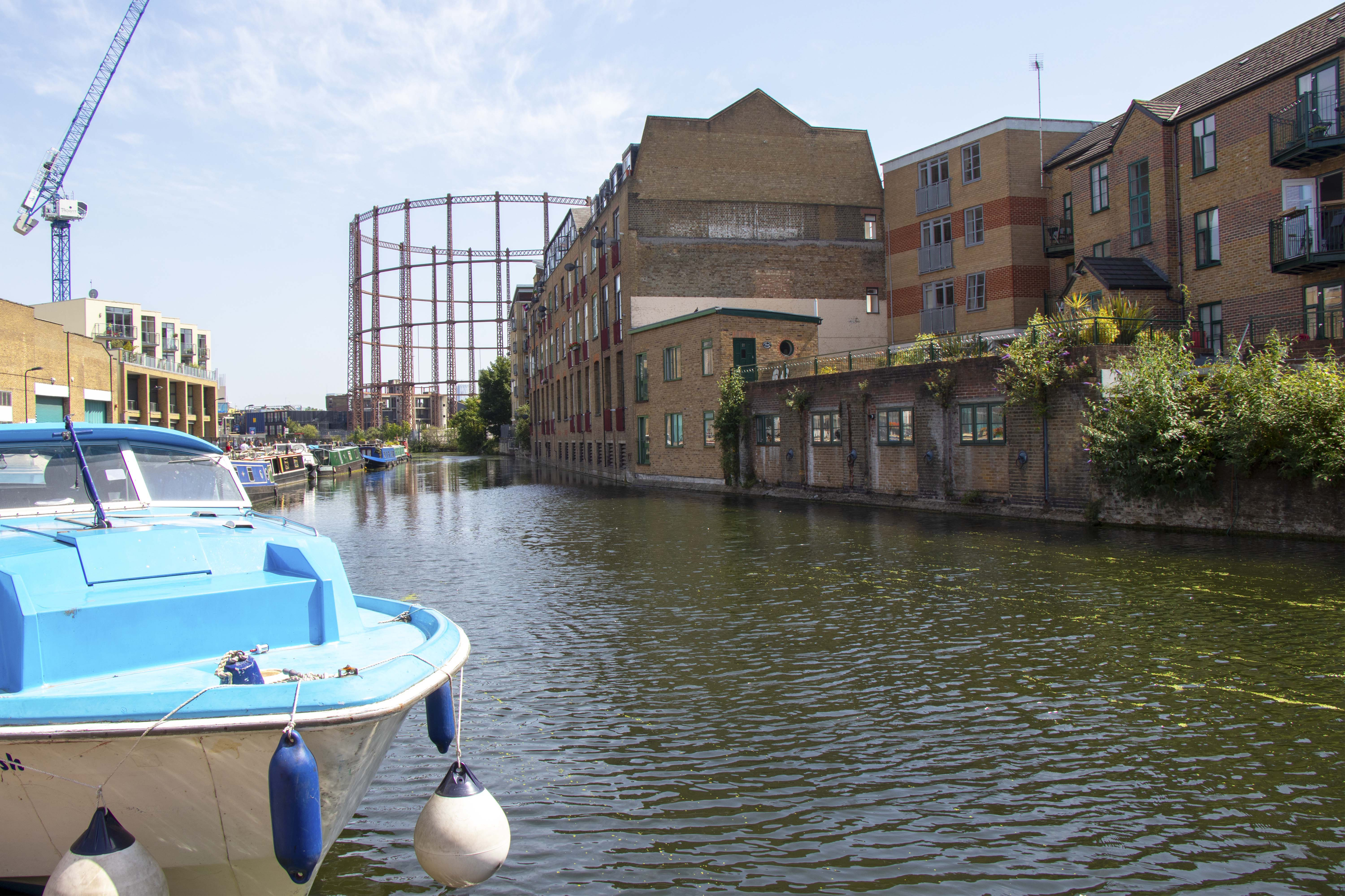Regent's Canal by Broadway Market