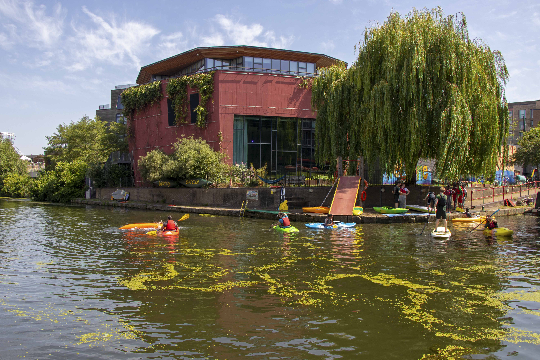 Regent's Canal kayaking