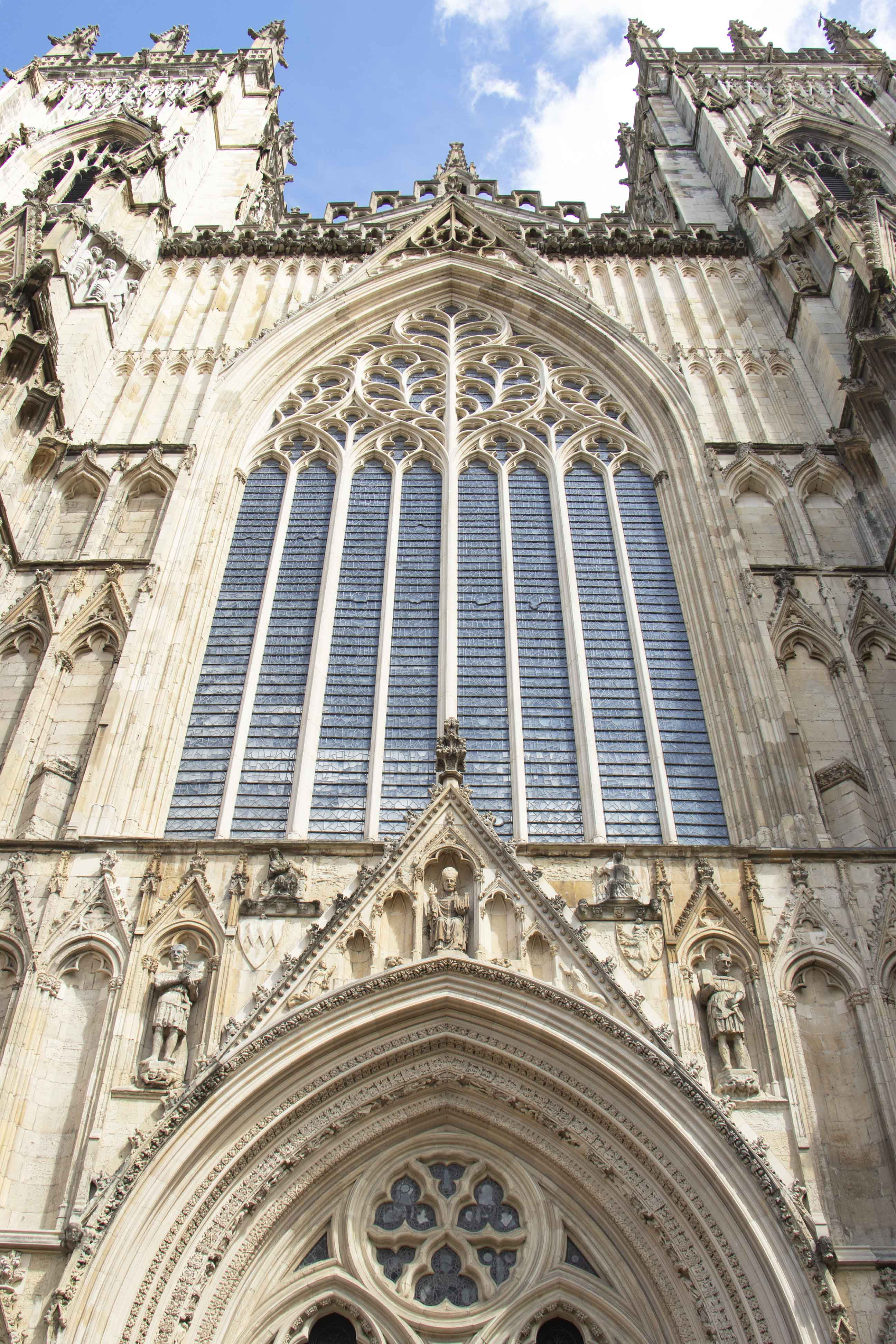 York Minster entrance