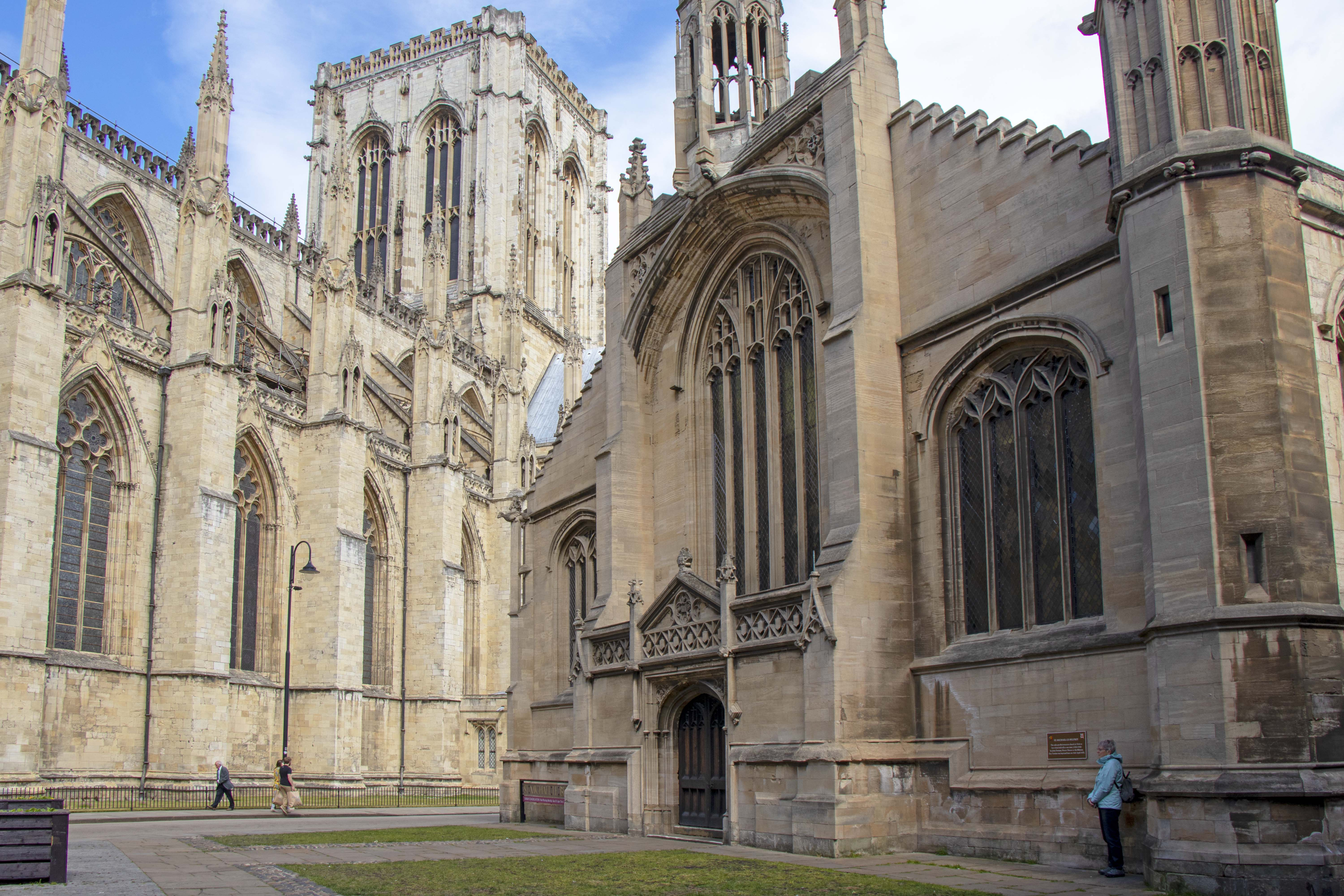 York Minster and St Michael le Belfry, York