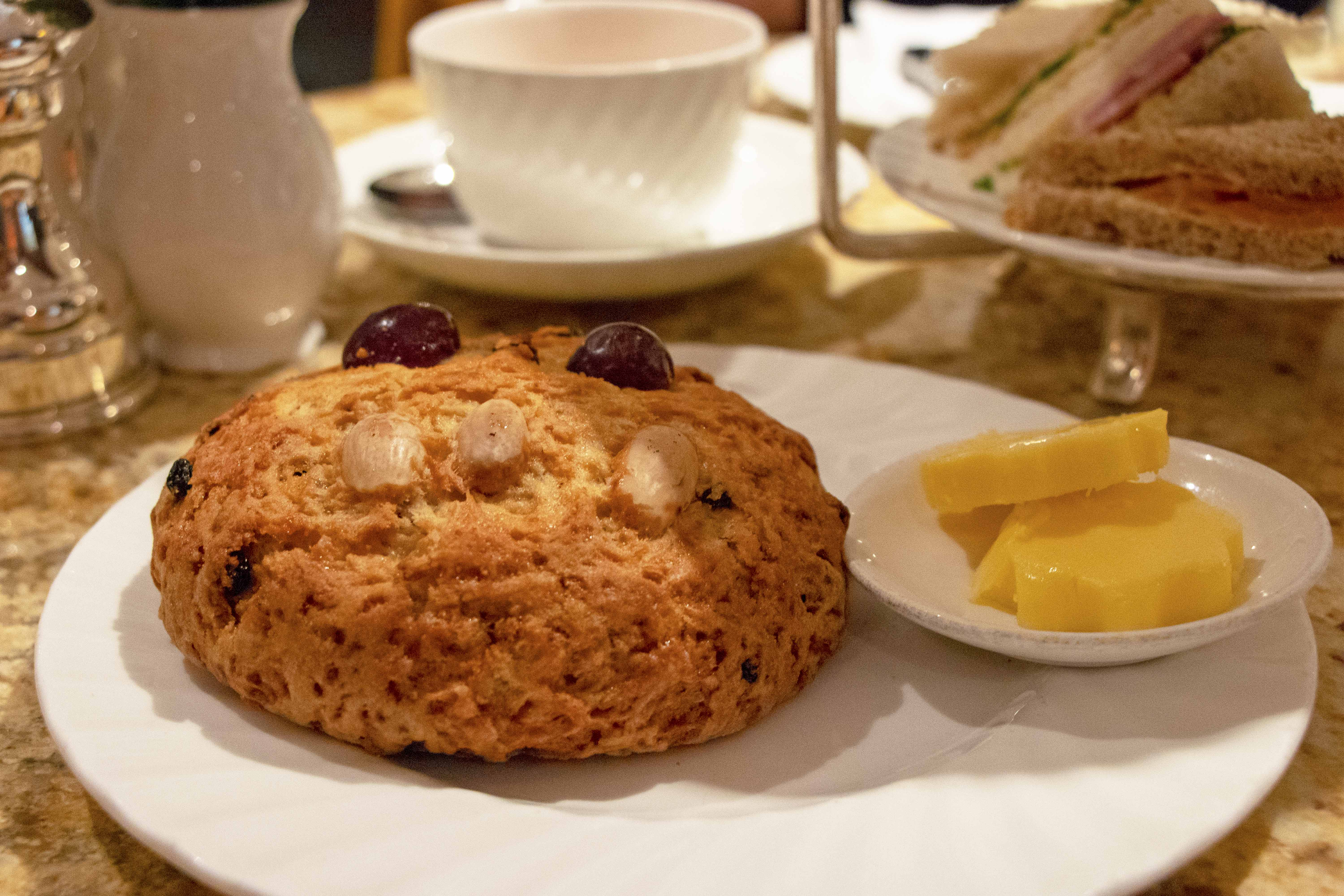 Yorkshire fat rascal from Bettys Tea Rooms