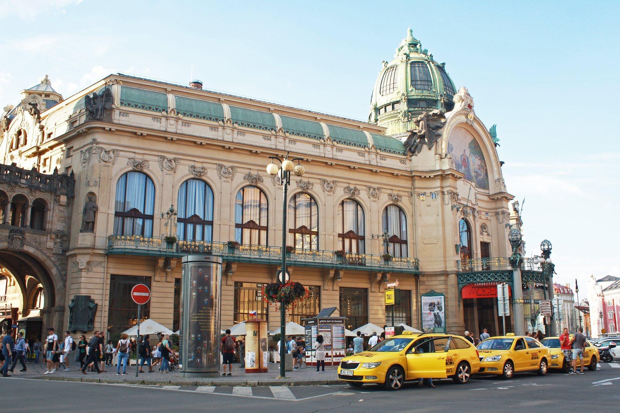 Obecni Dum Municipal House, Prague