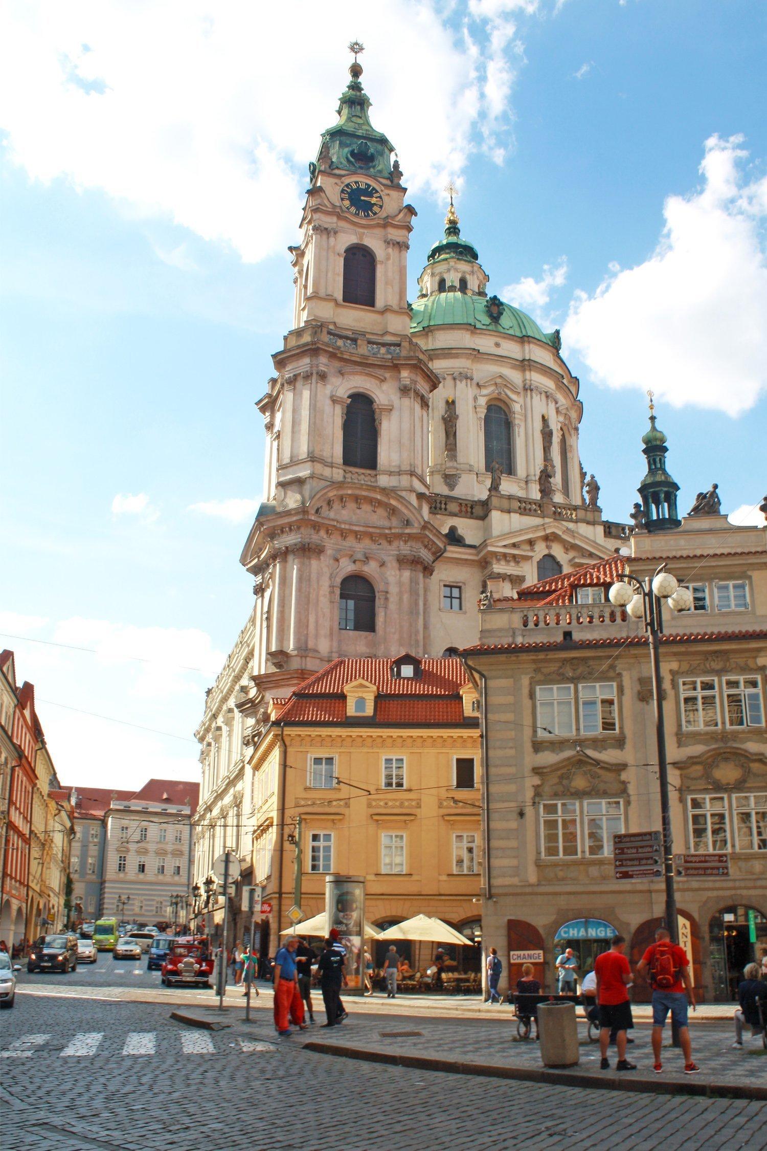 St Nicholas bell tower, Prague