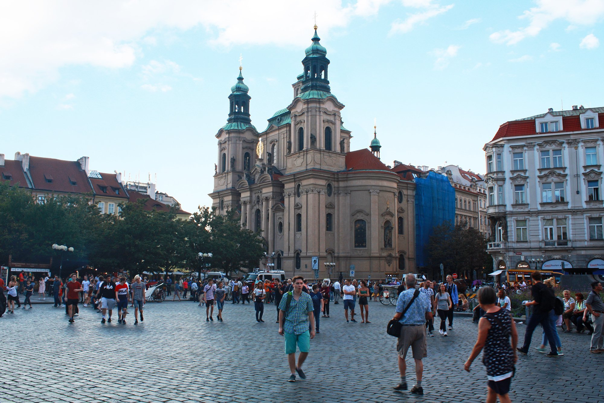 St Nicholas church, Old town square, Prague