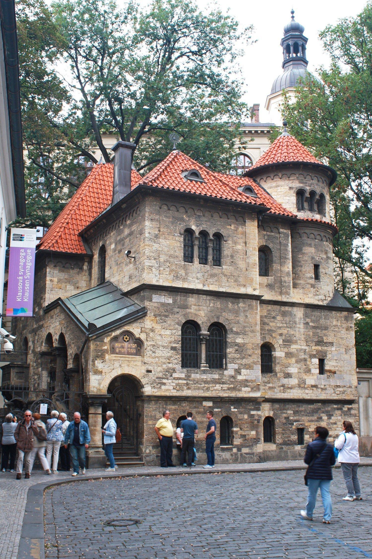 The Ceremonial Hall by Klausova synagoga, Prague