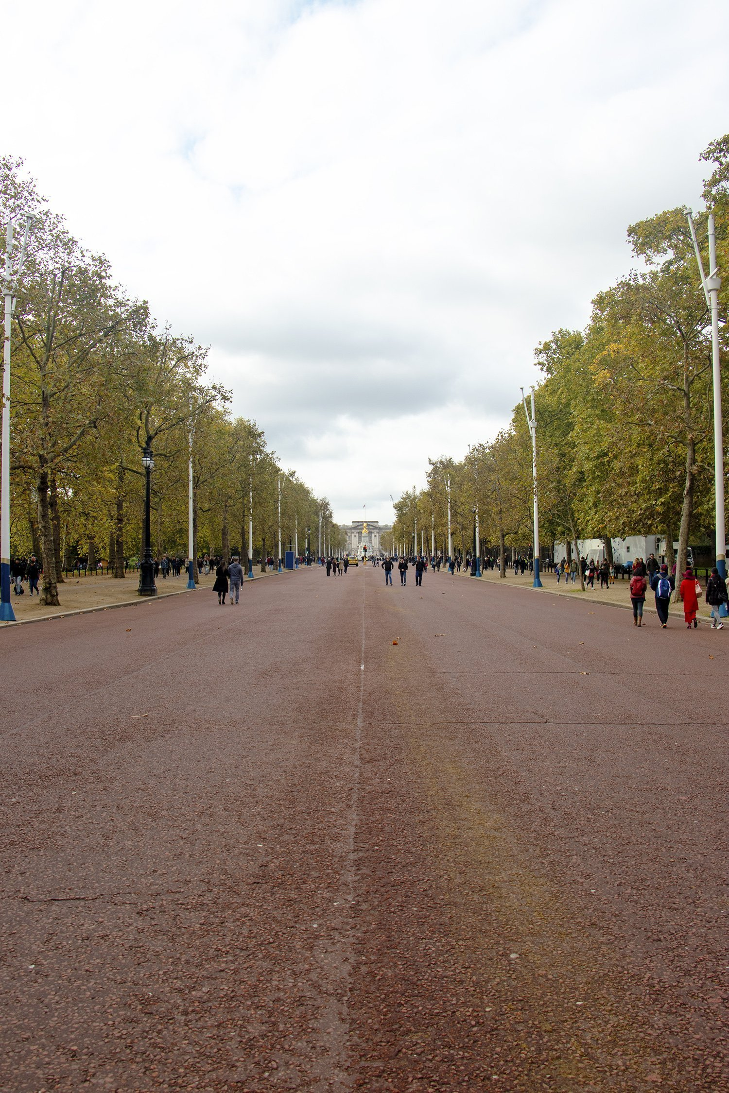 The Mall to Buckingham Palace