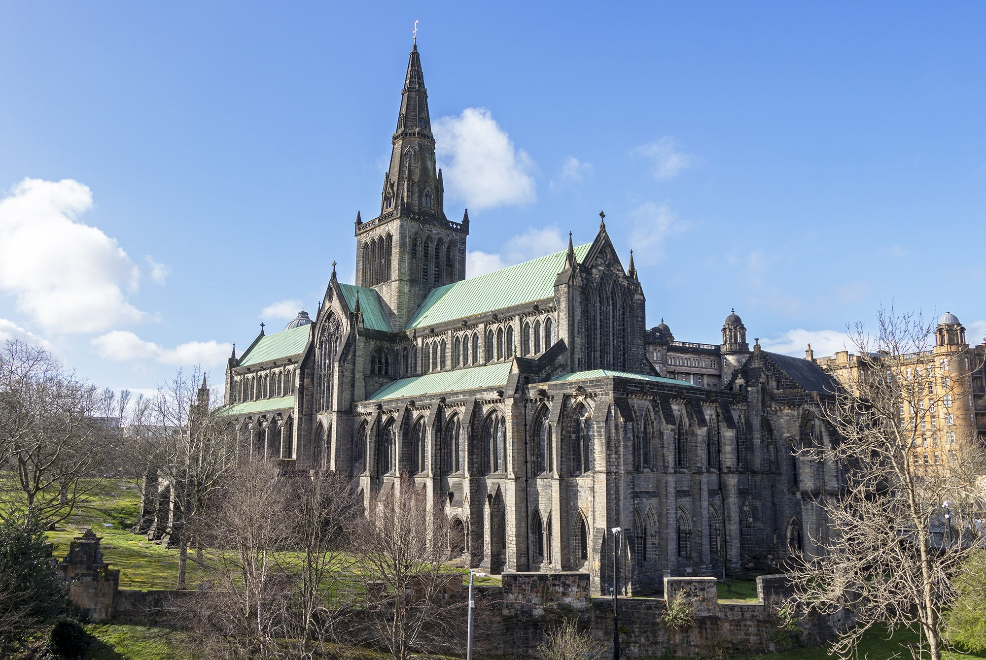 Glasgow Cathedral outside