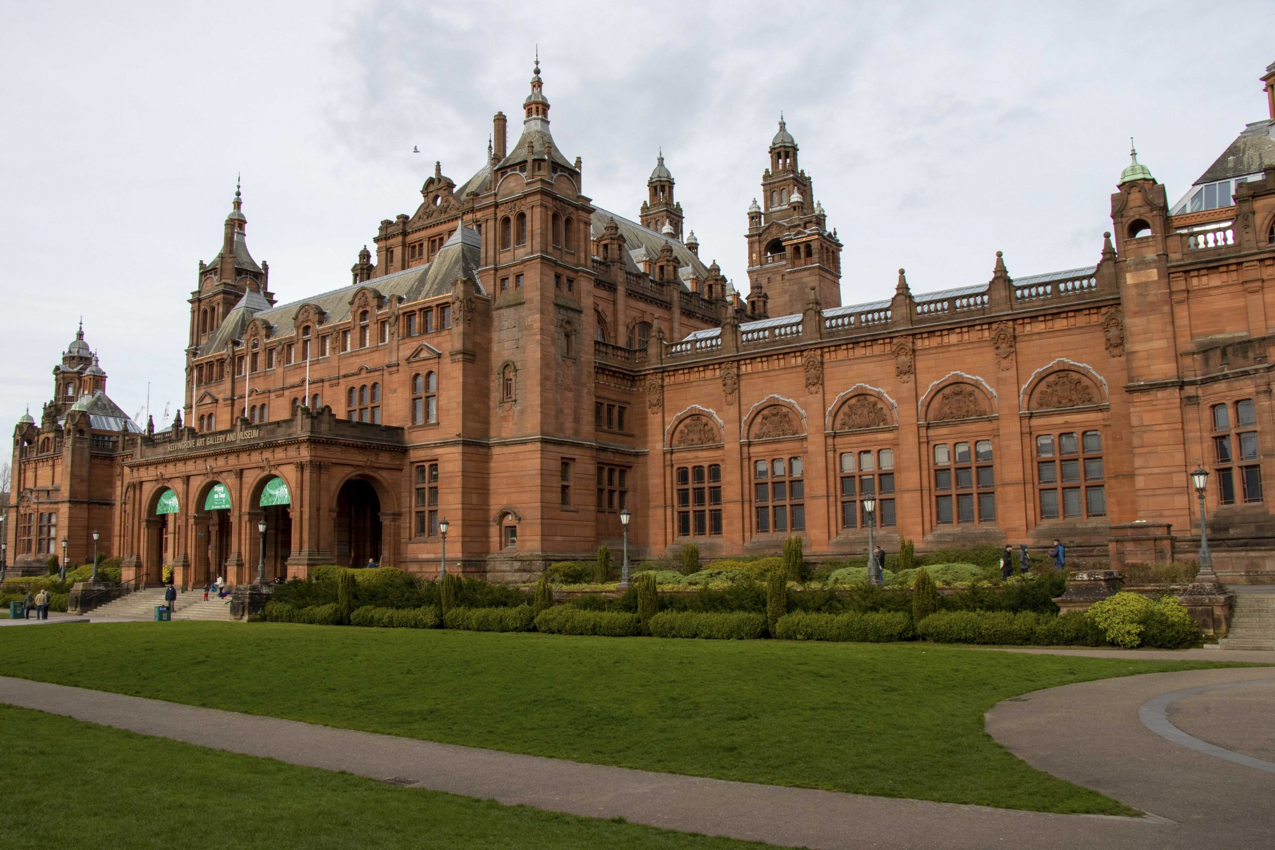 Kelvingrove Museum, Glasgow outside