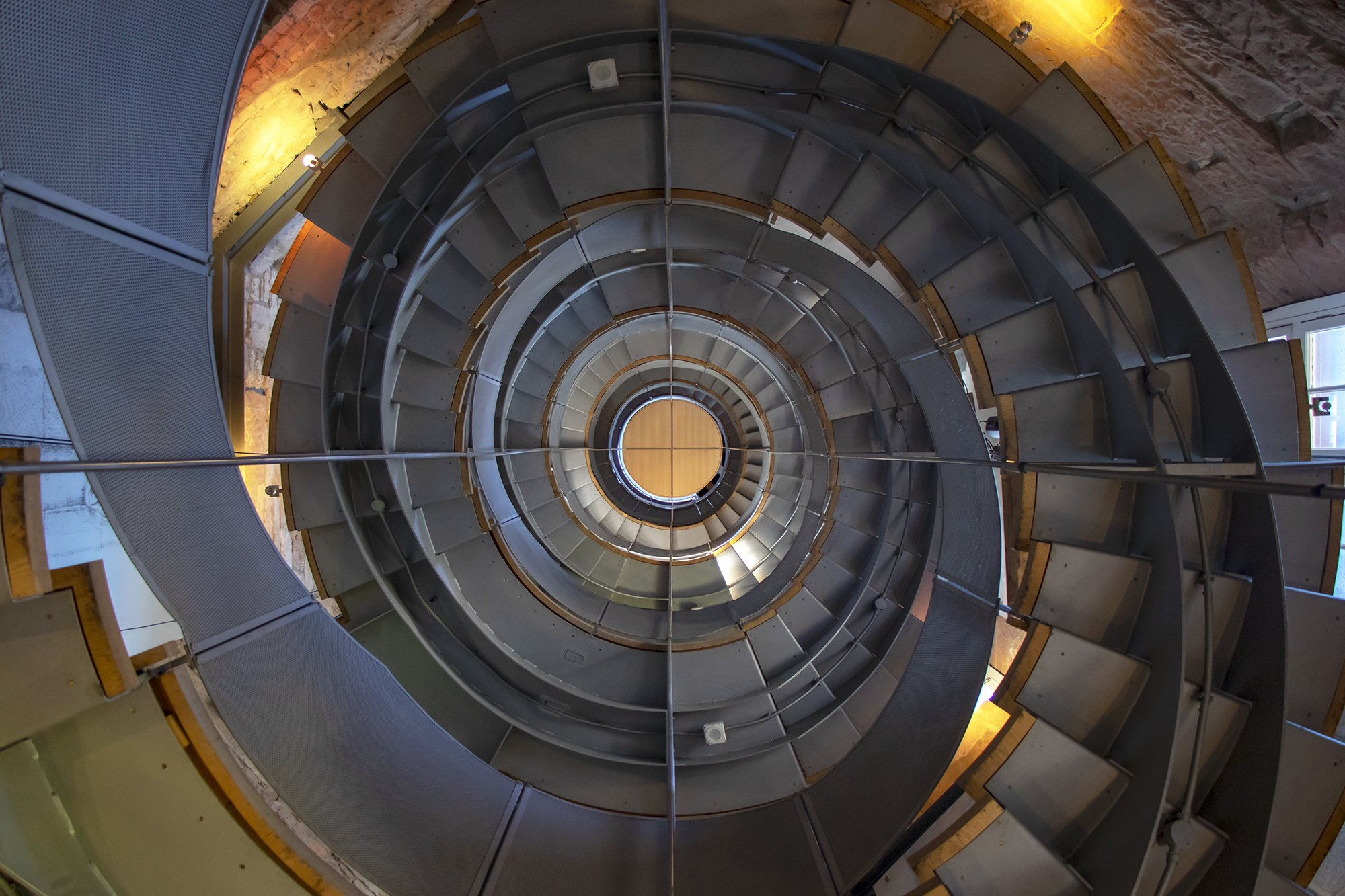 The Lighthouse, Glasgow Mackintosh Tower stairs
