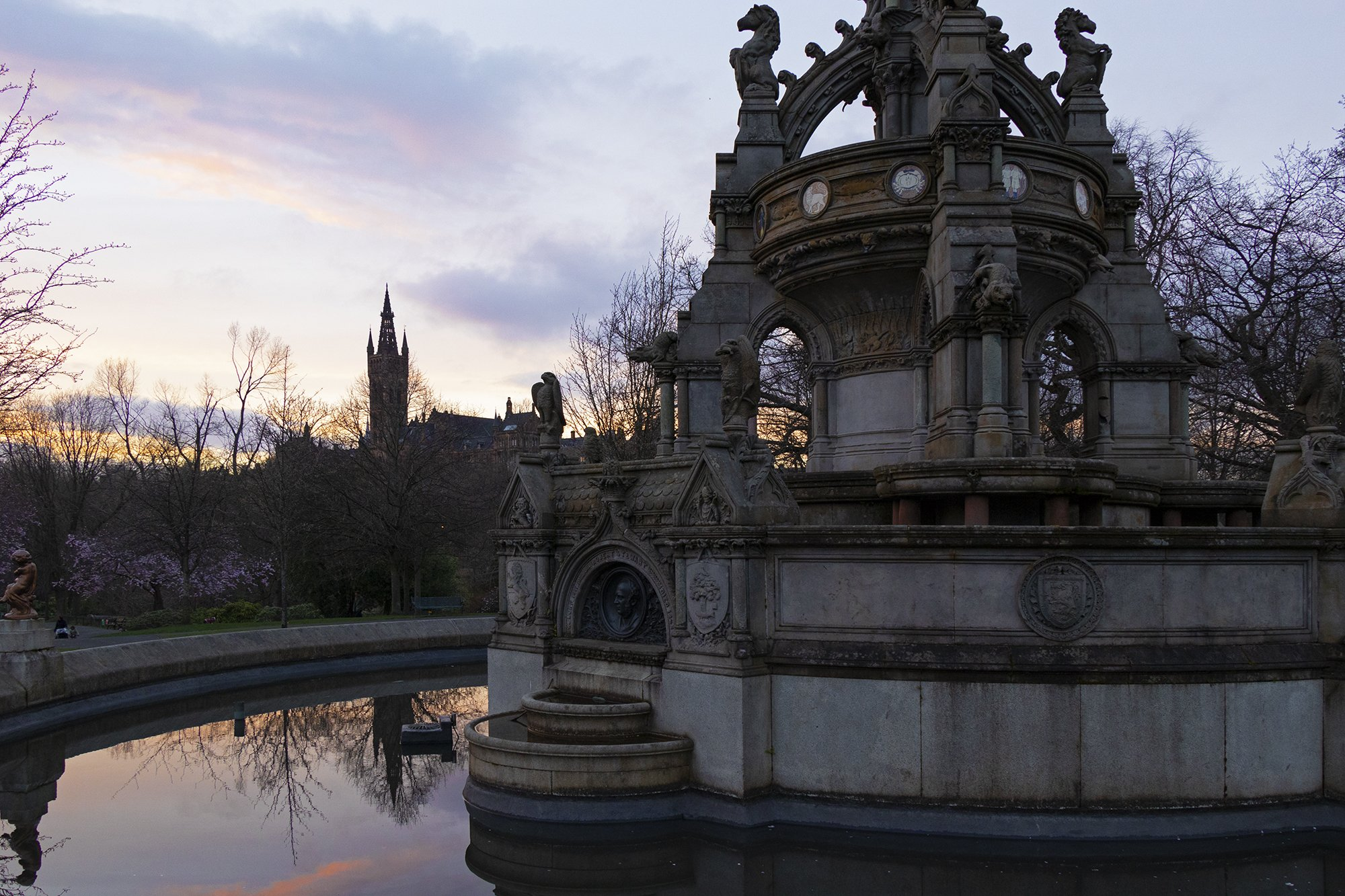 Stewart Memorial Fountain, Kelvingrove Park, Glasgow