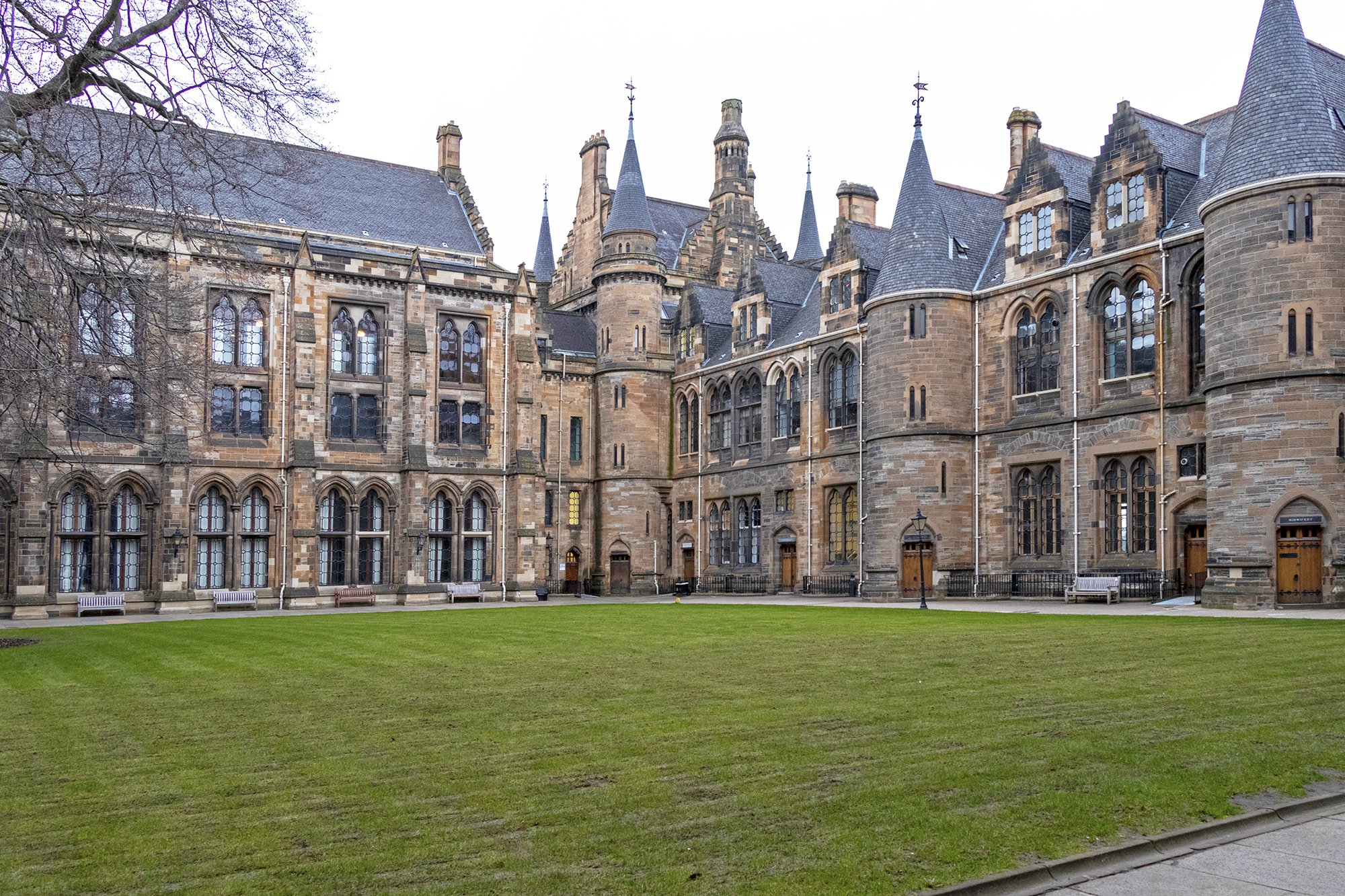 University of Glasgow east quadrangle