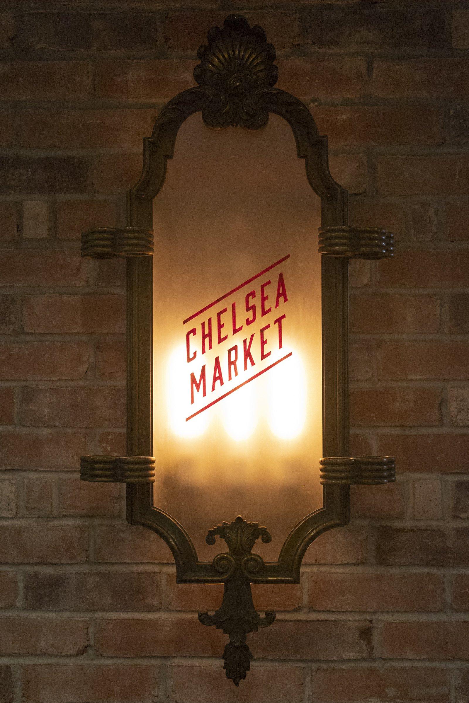 Chelsea Market light sign