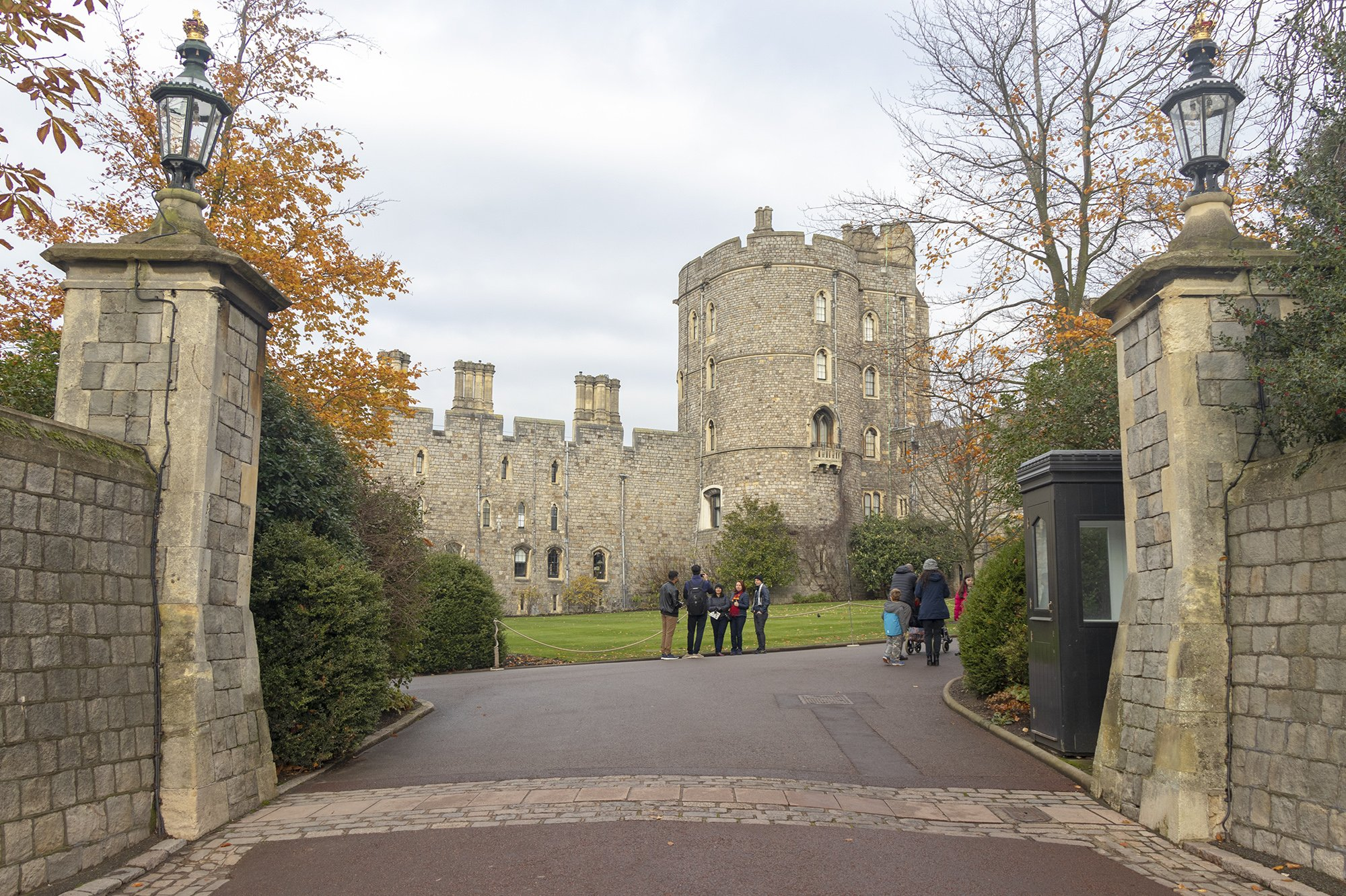 Windsor Castle entrance gate