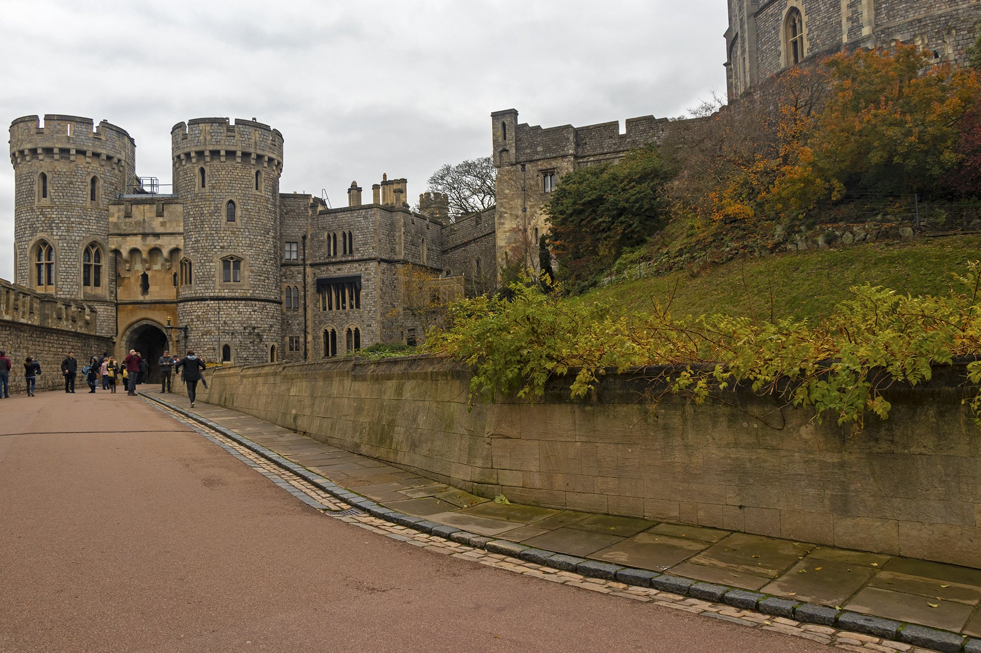 Windsor Castle middle yard