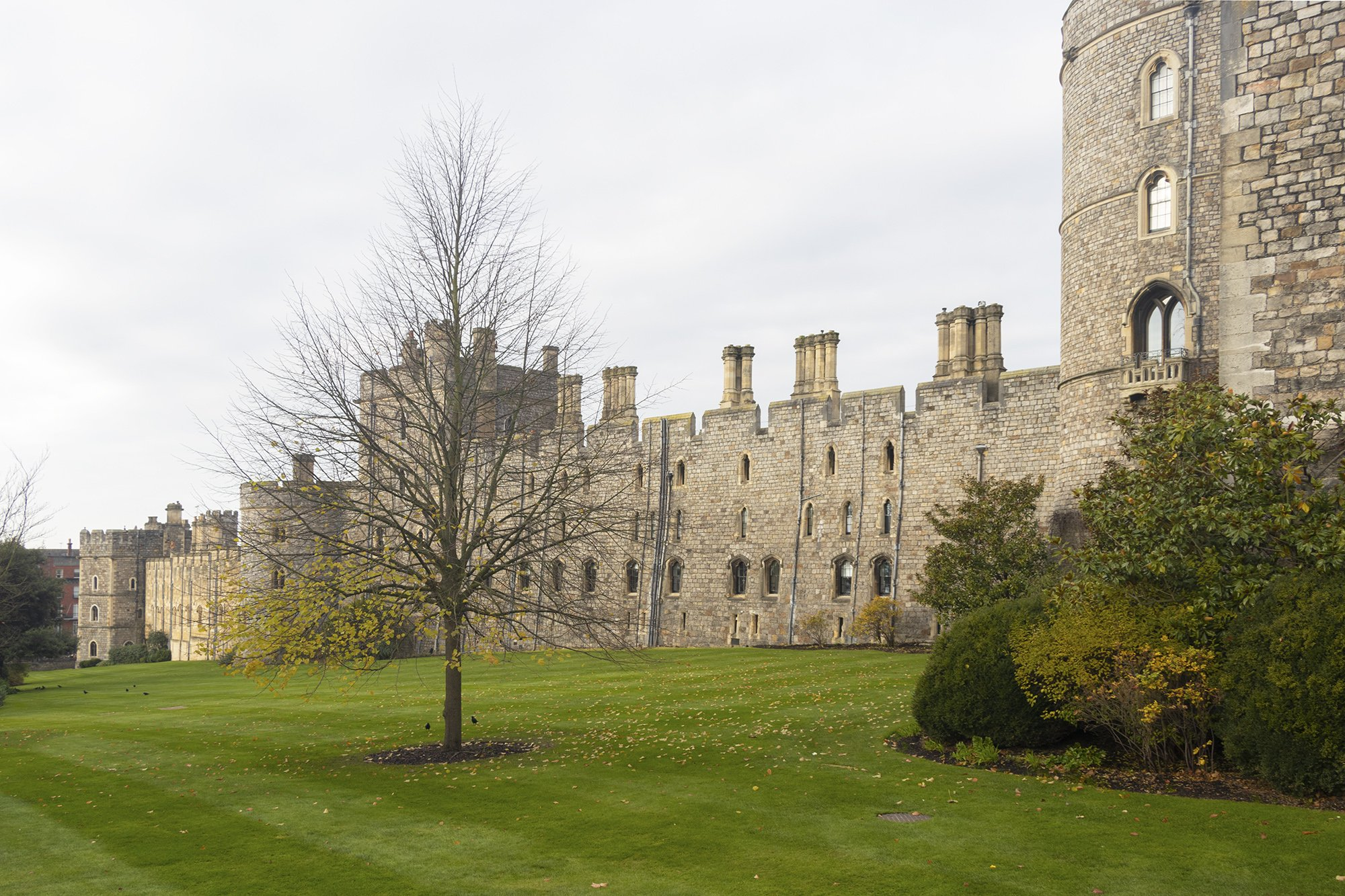 Windsor Castle walls
