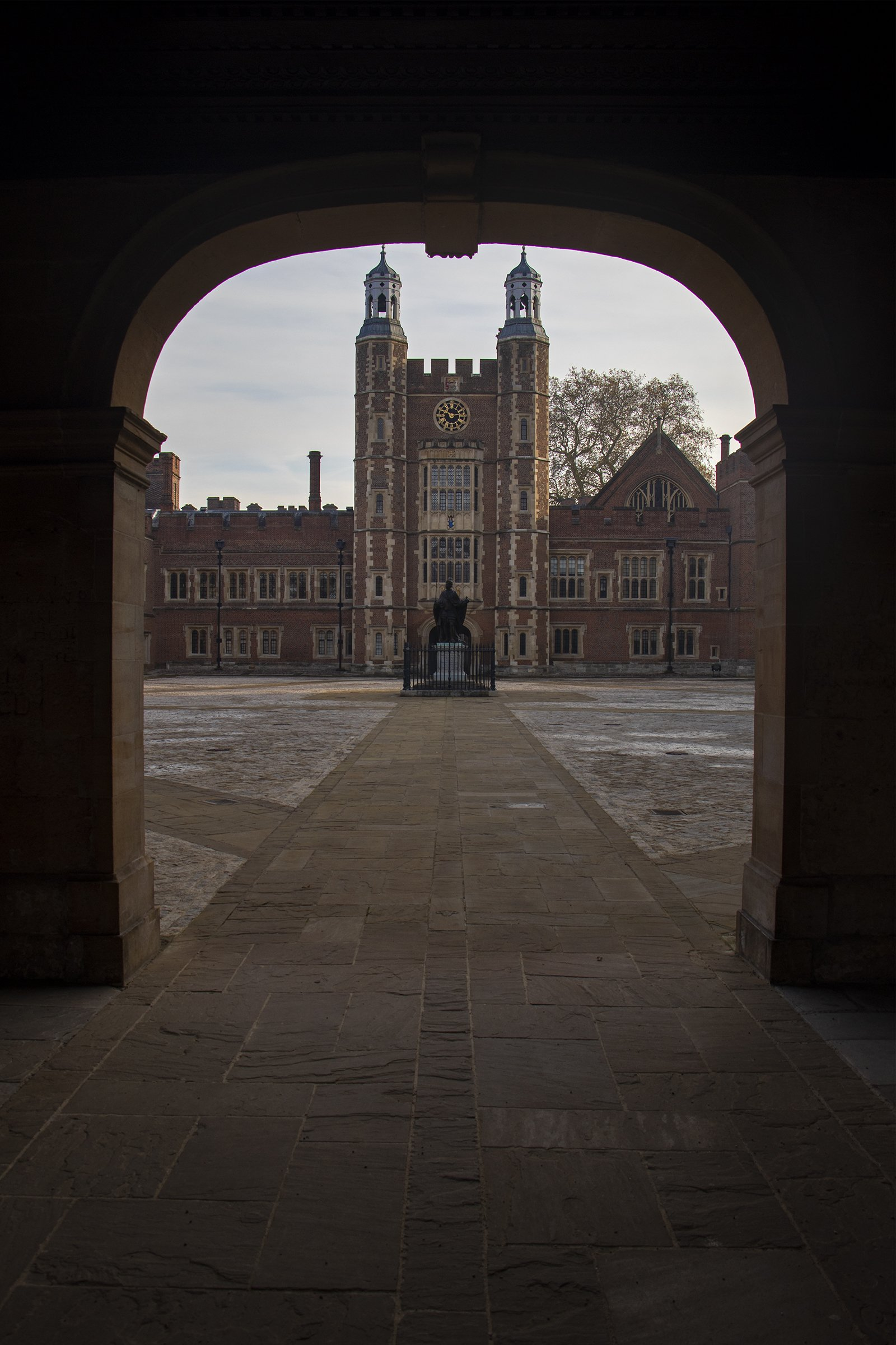 Eton College school yard