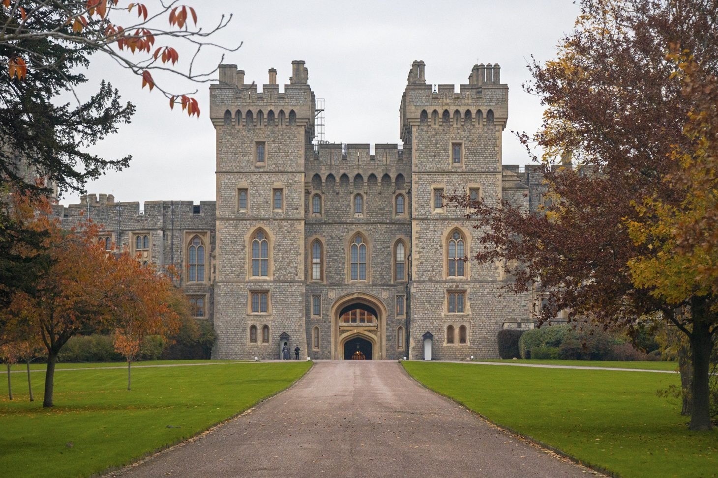George IV gateway, Windsor Castle entrance