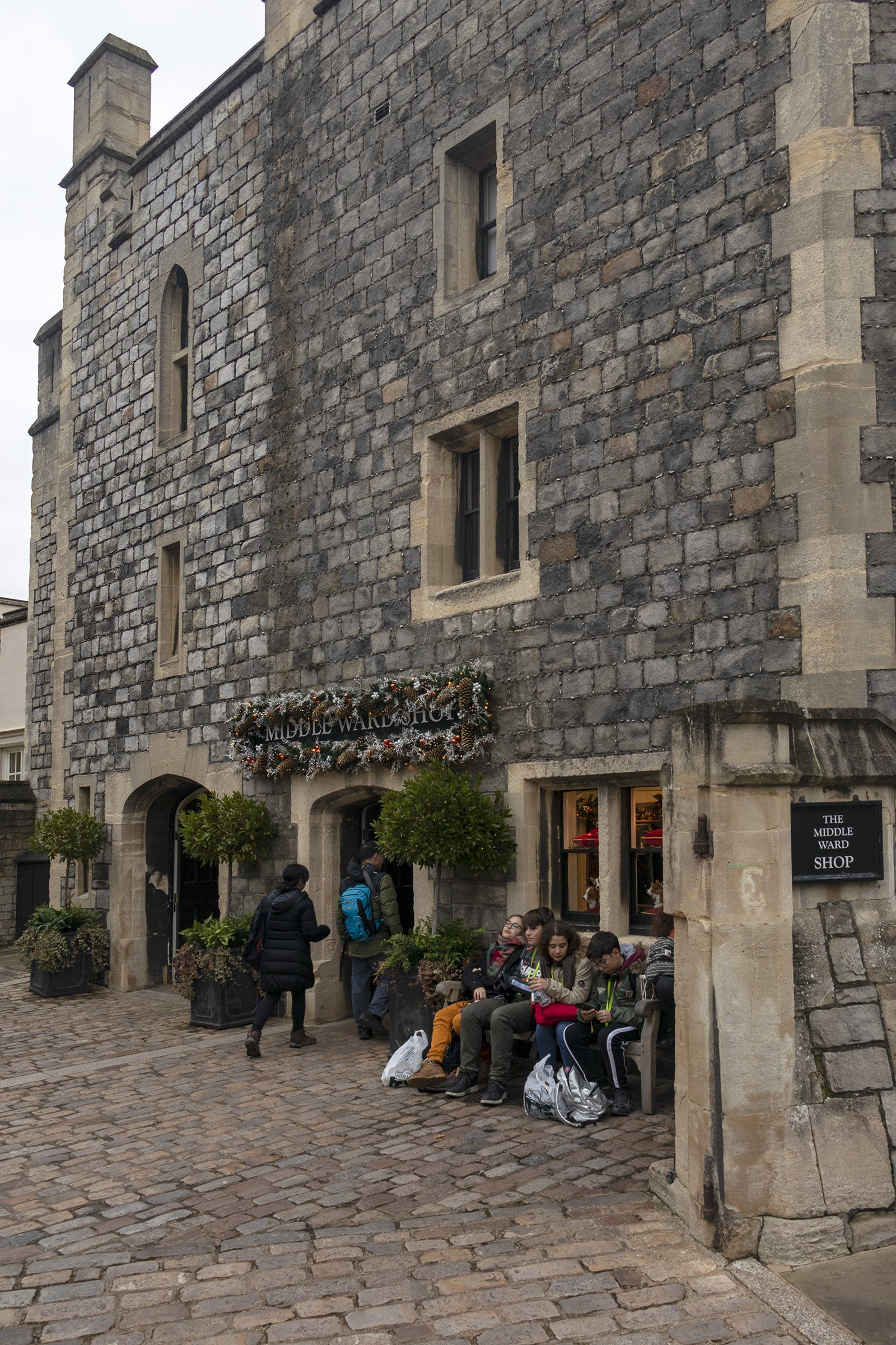 Middle Ward shop, Windsor Castle