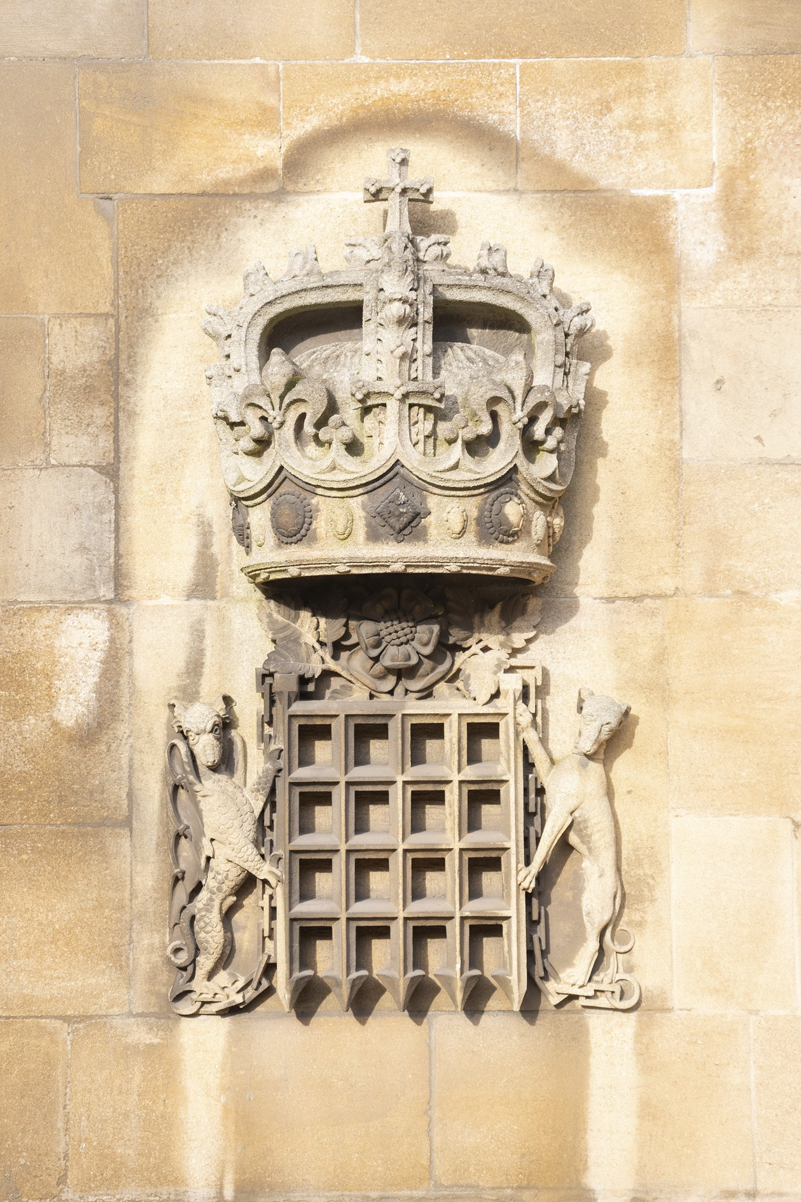 St George's chapel coat of arms