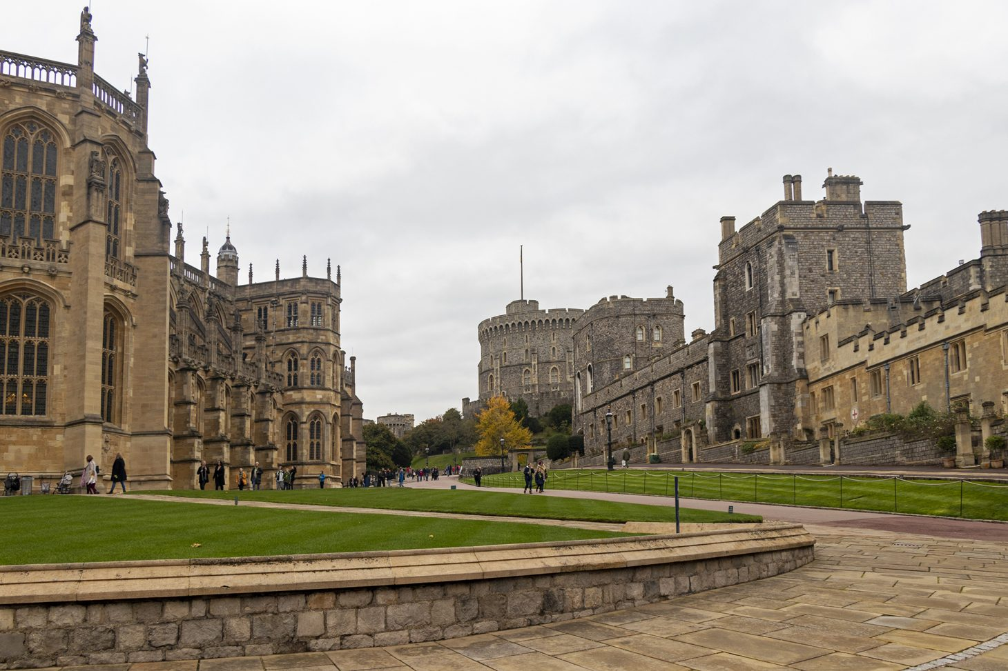 St George's Chapel and Windsor Castle Lower Ward