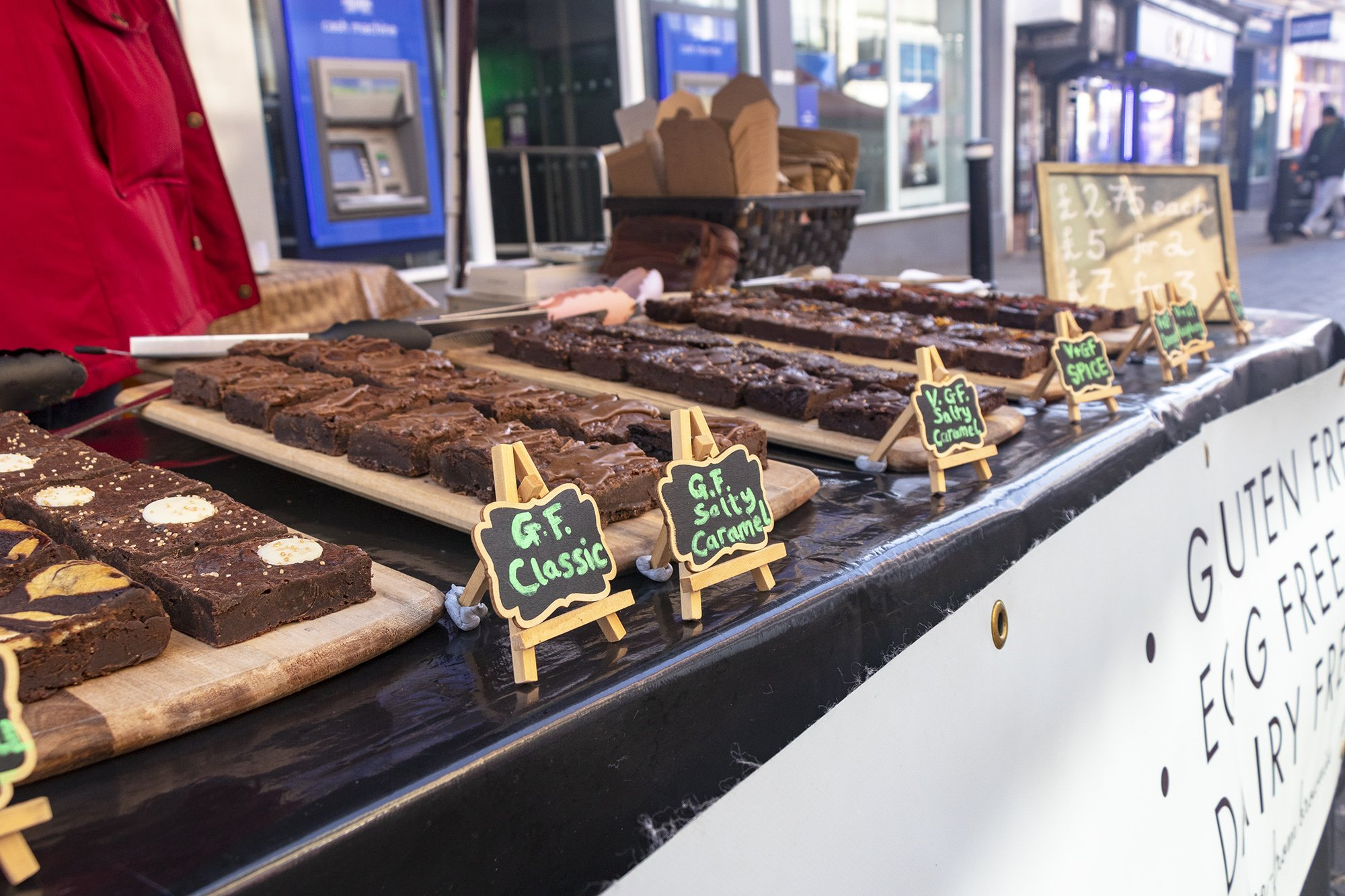 Windsor independent market brownie stall