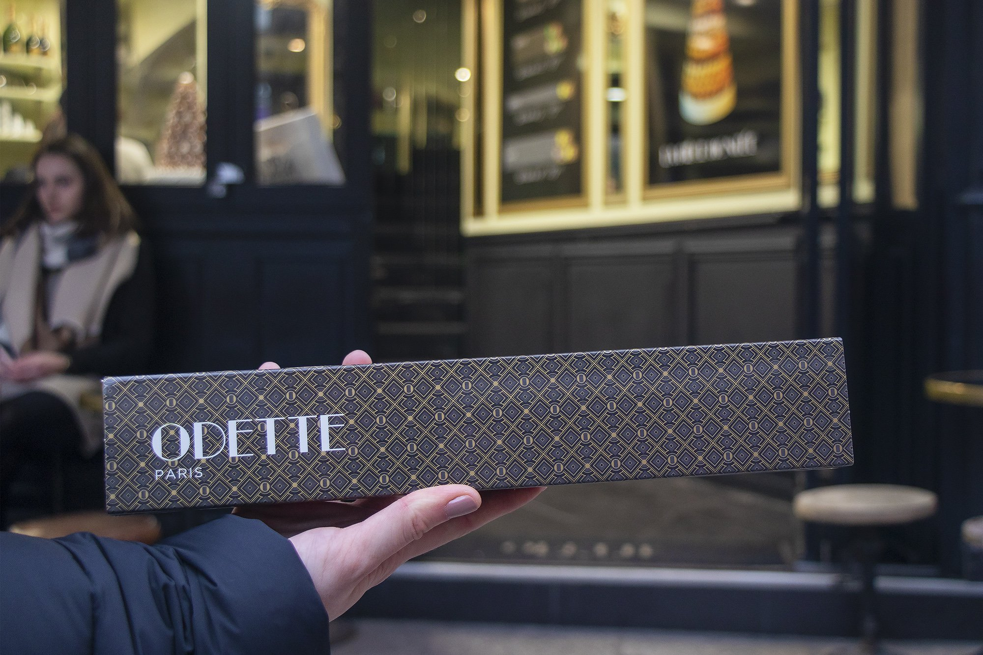 Boites de choux box from Odette, Paris