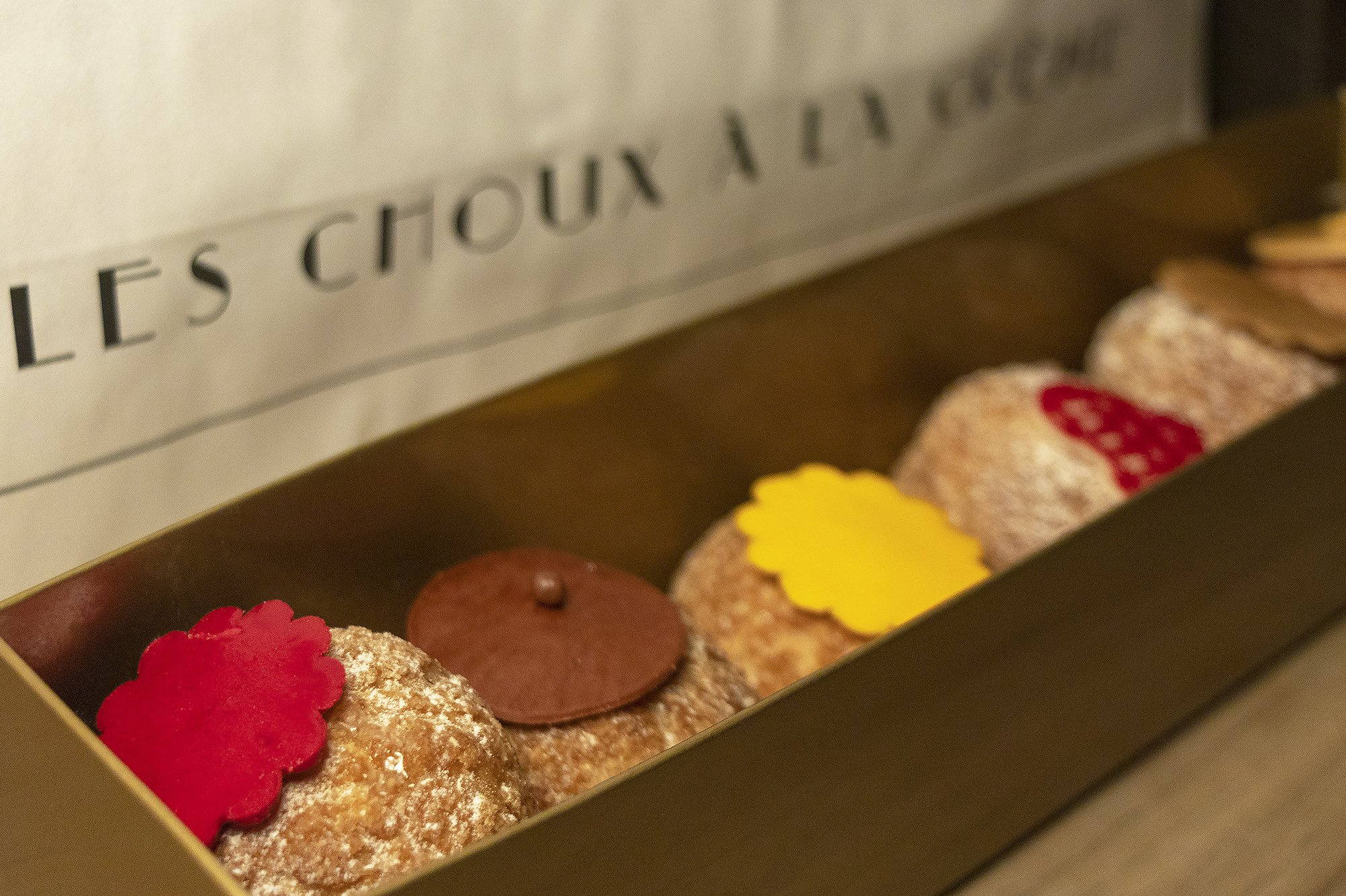 Choux a la creme from Odette, Paris