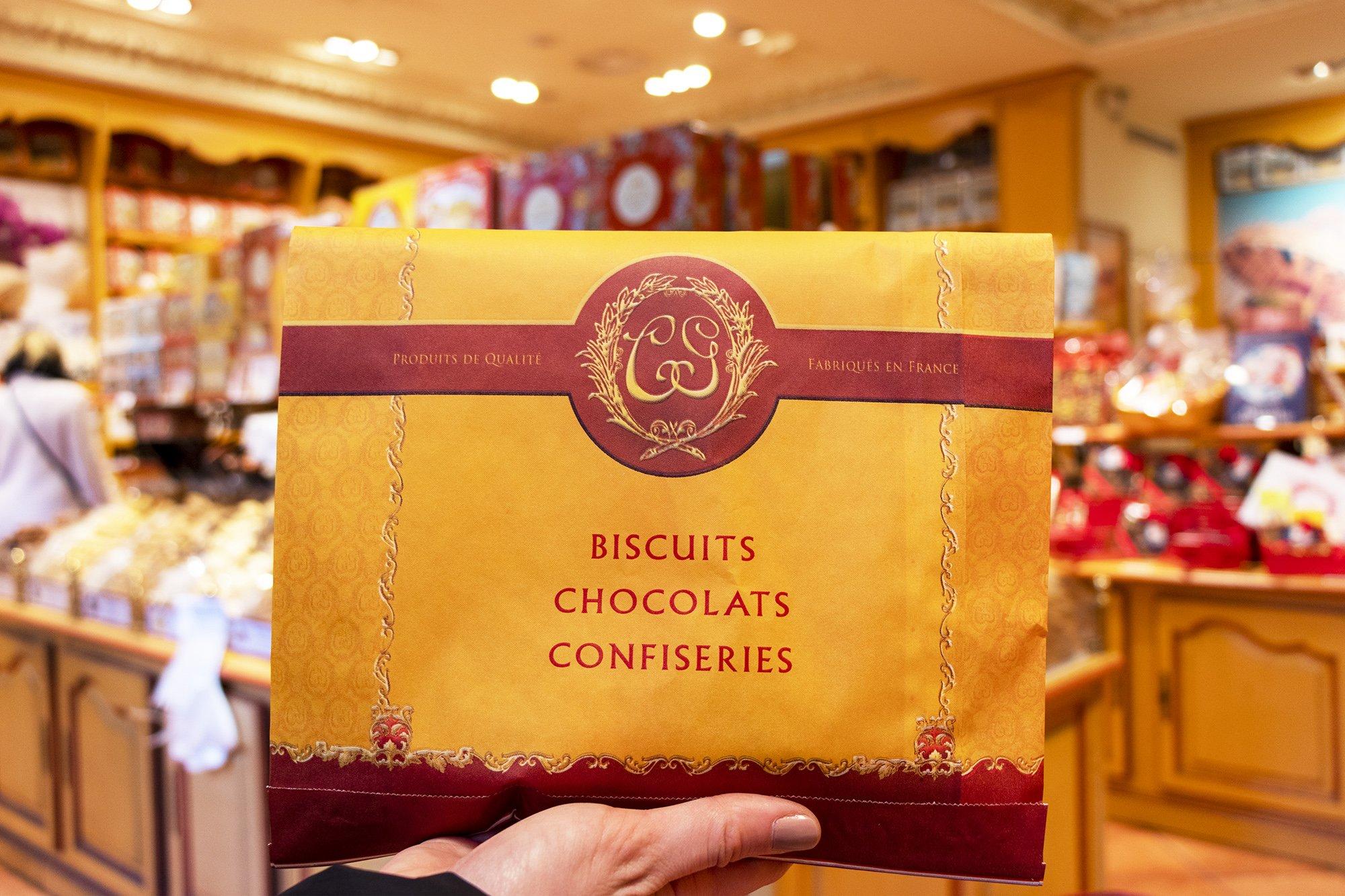 La Cure Gourmande biscuit bag