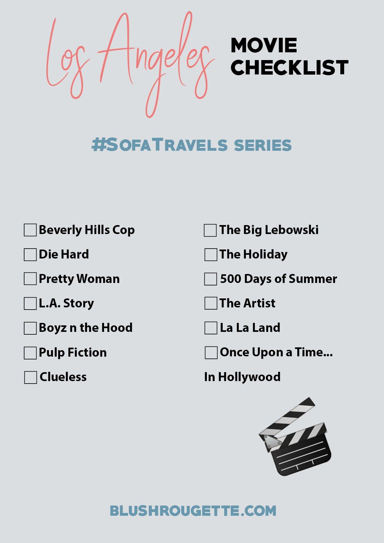 Best movies set in Los Angeles checklist