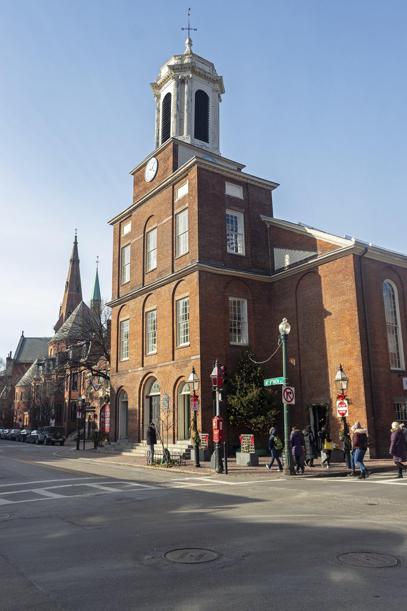 Charles Street Meeting House, Boston - Black Heritage Trail
