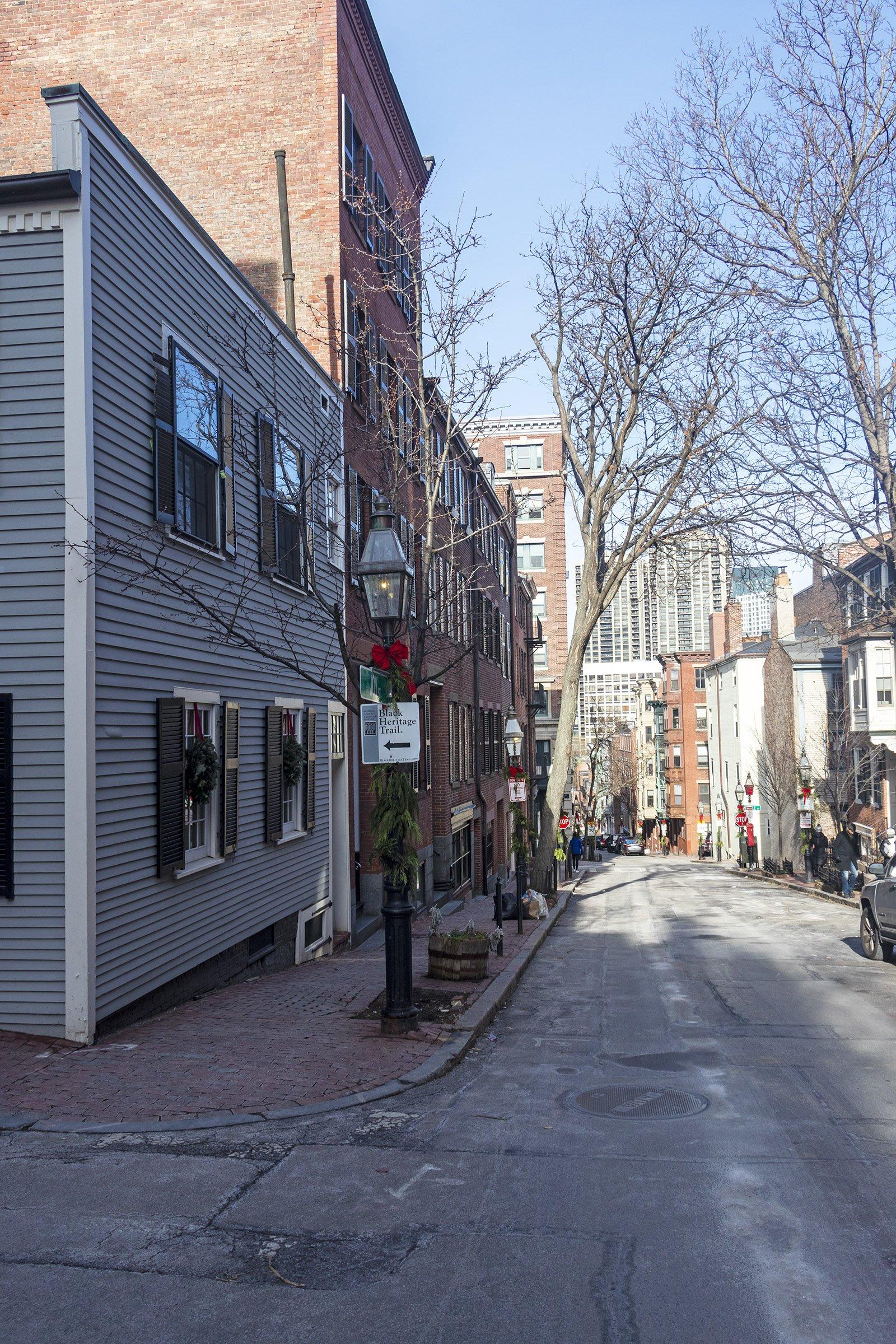 Jones Street, Boston - Black Heritage Trail