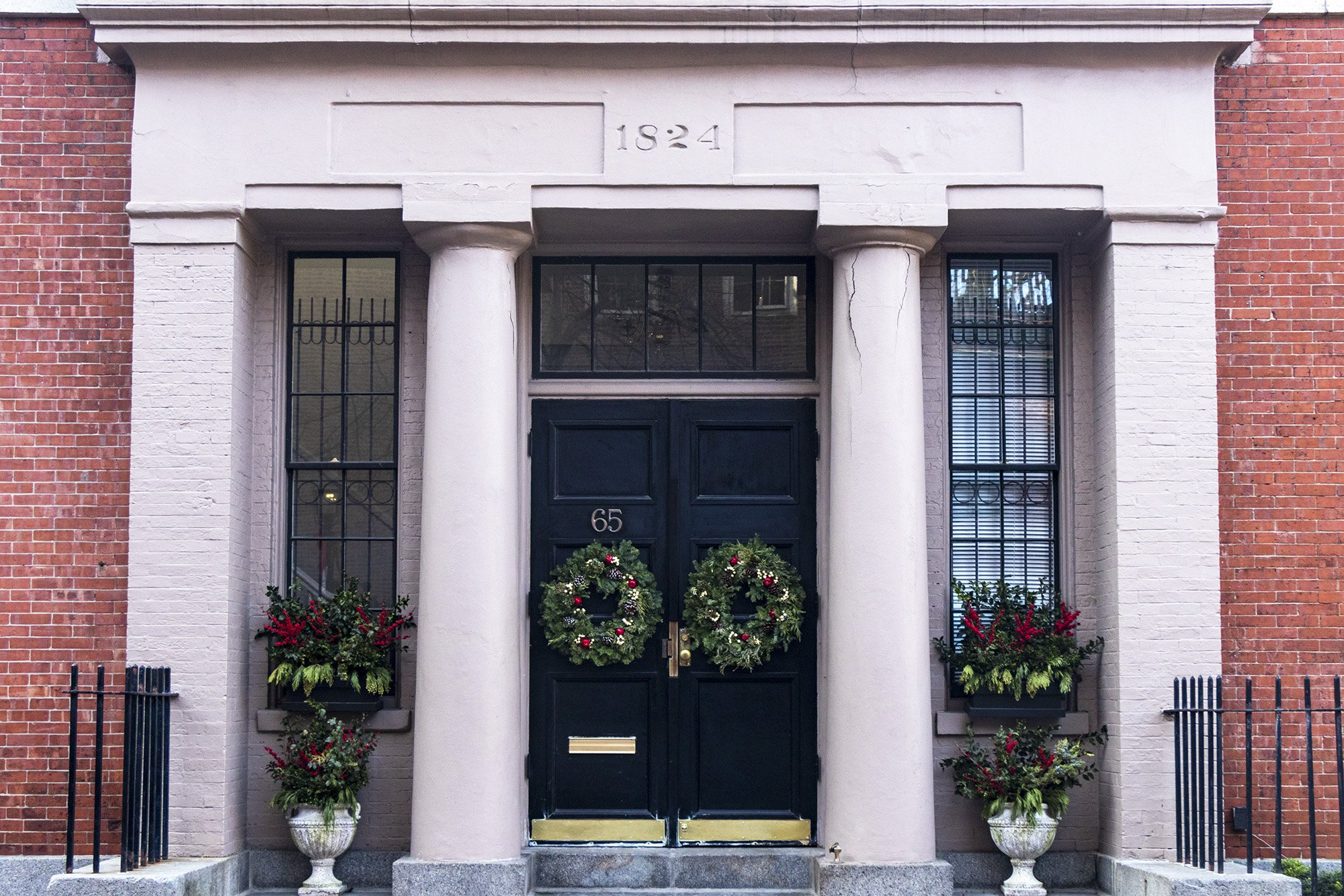 Phillips School, Boston entrance