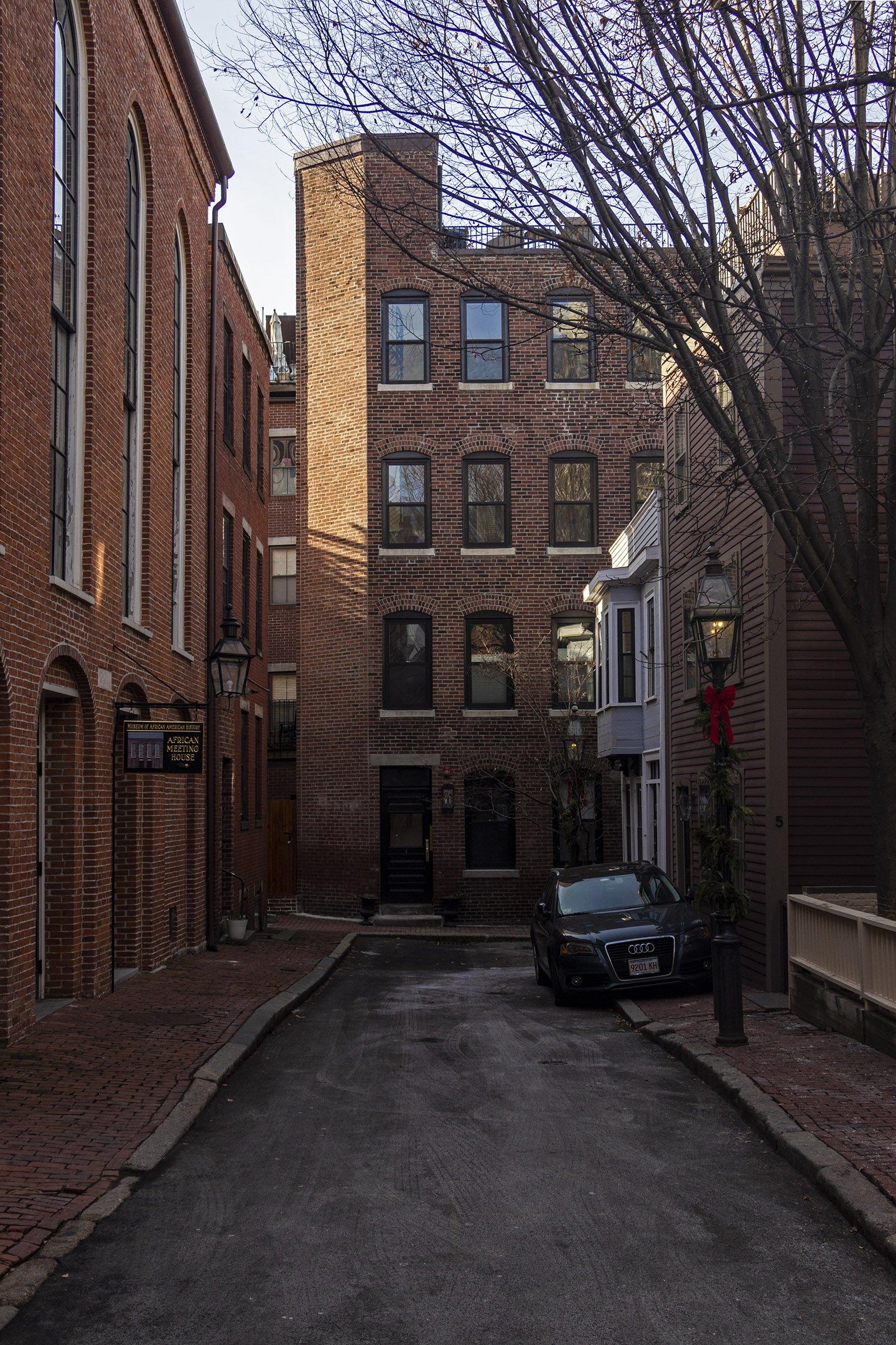 Smith Court Residences, Boston - Black Heritage Trail