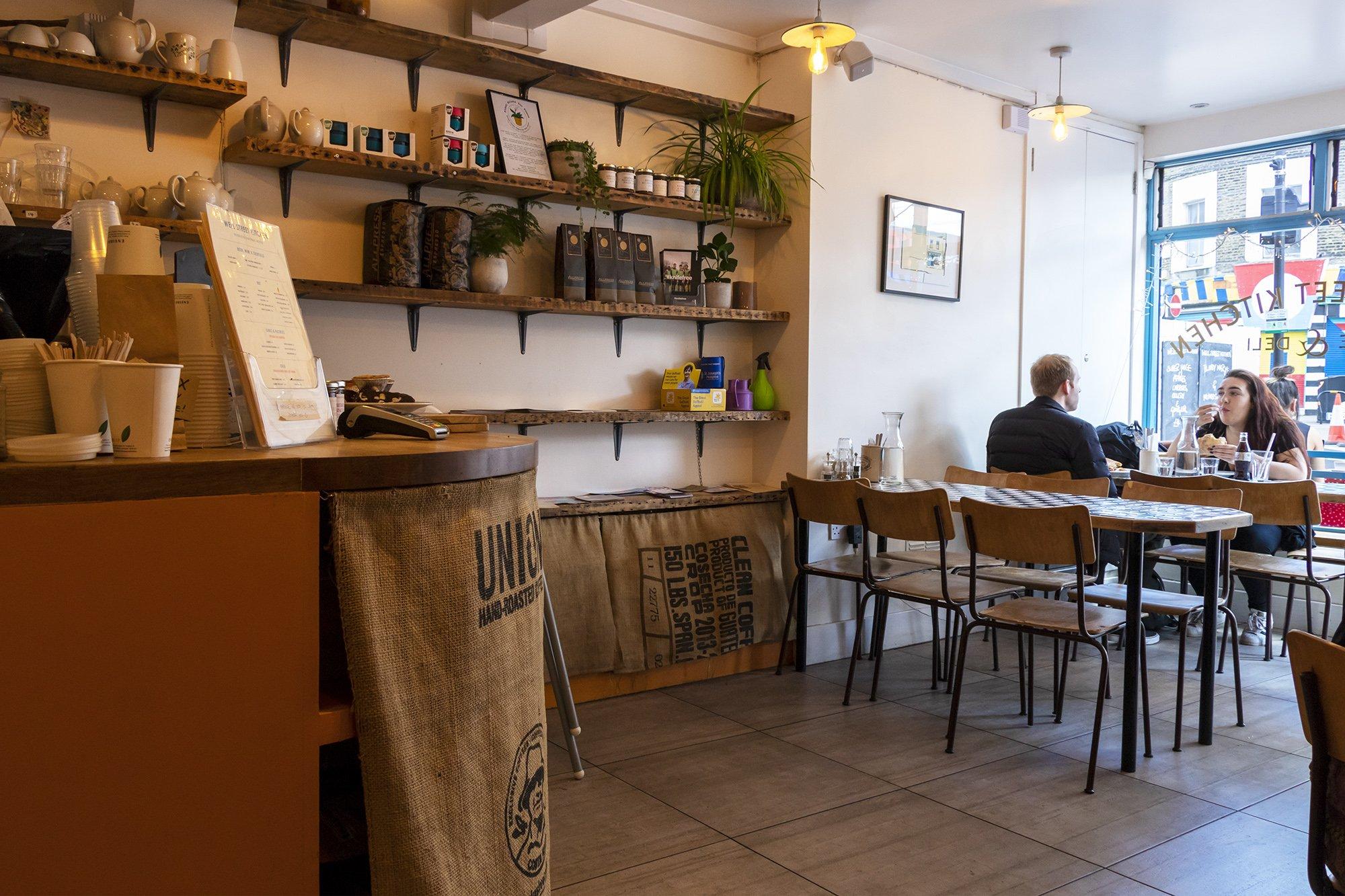 Well Street Kitchen, Hackney inside