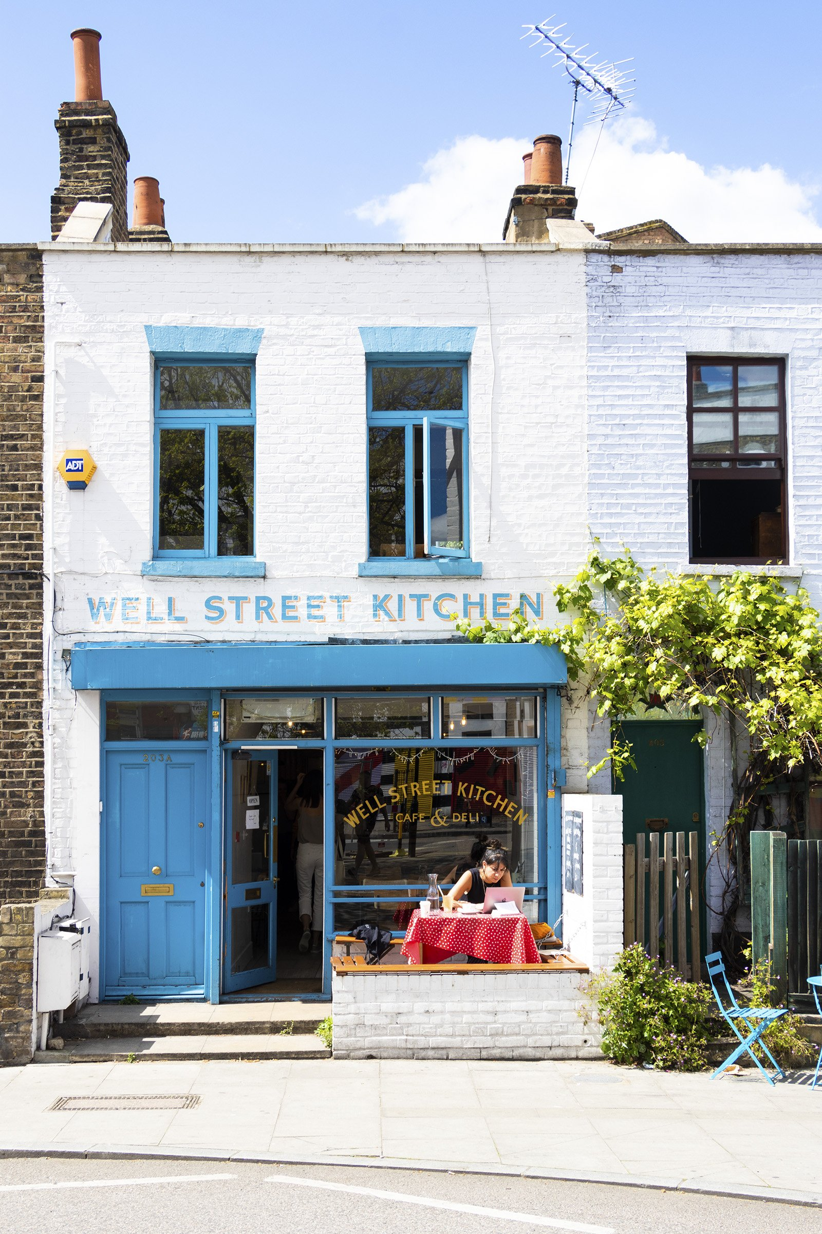 Well Street Kitchen, Hackney outside