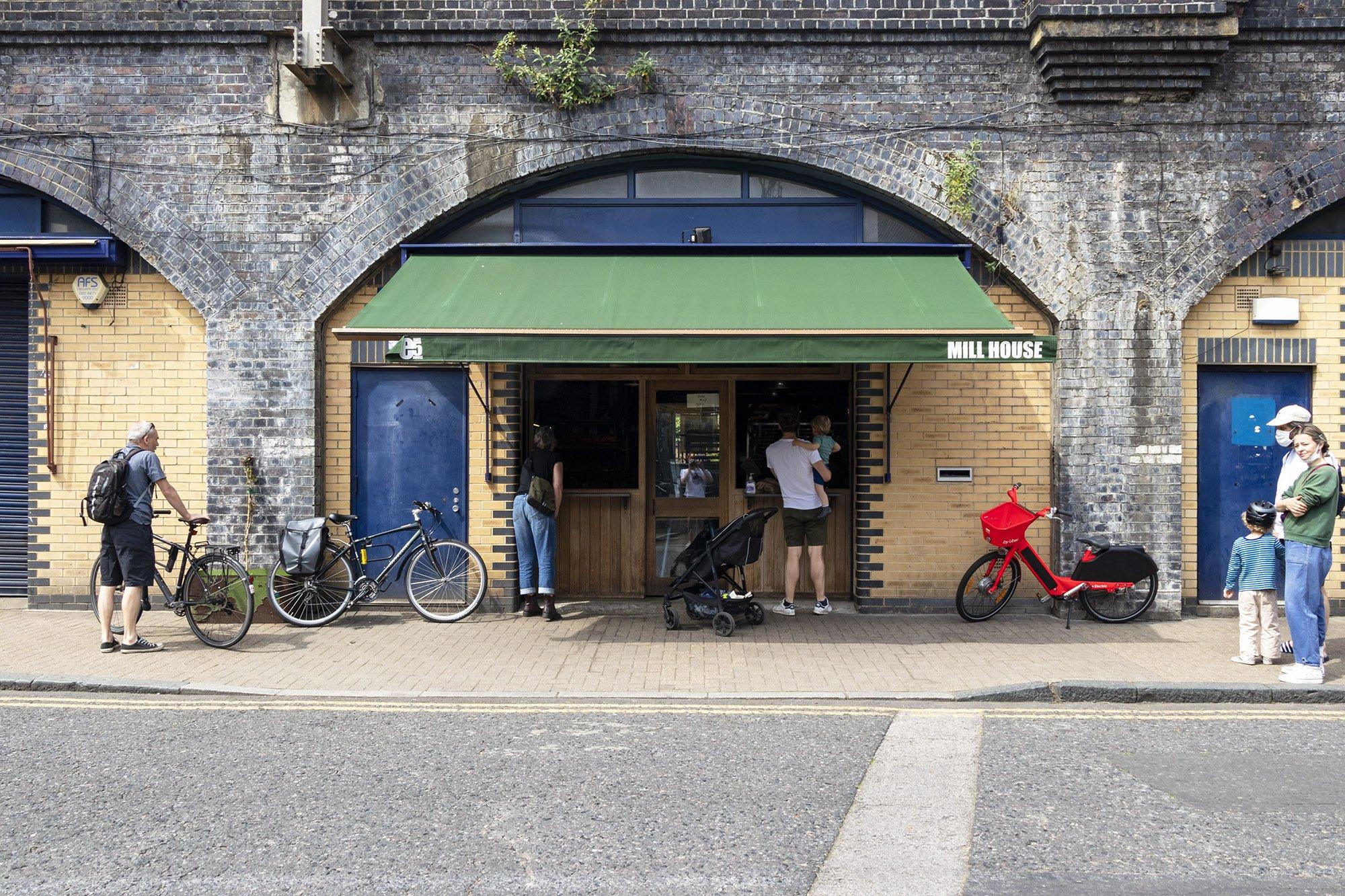 E5 Bakehouse, Hackney outside