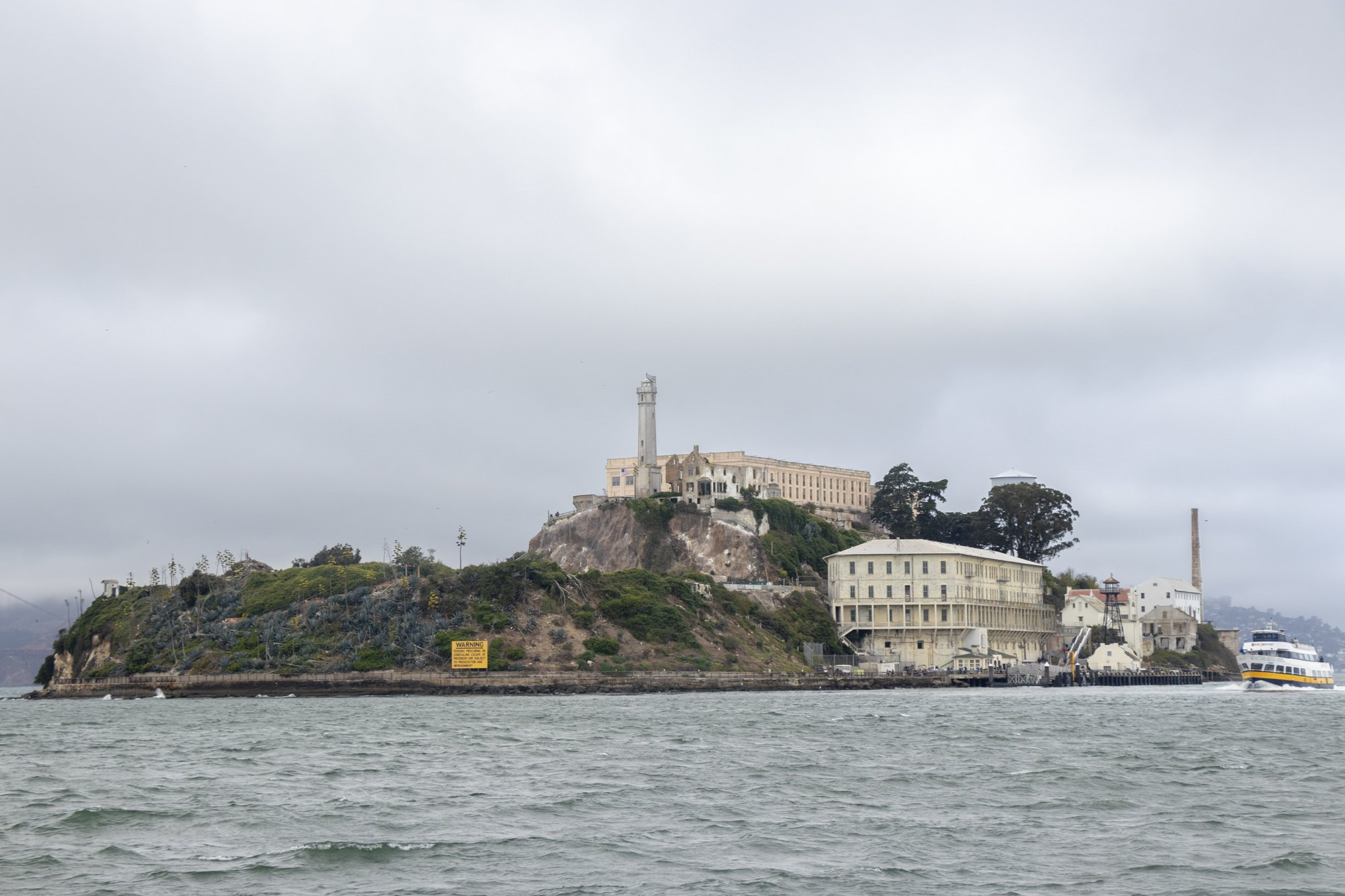 Alcatraz Cruise and Alcatraz island