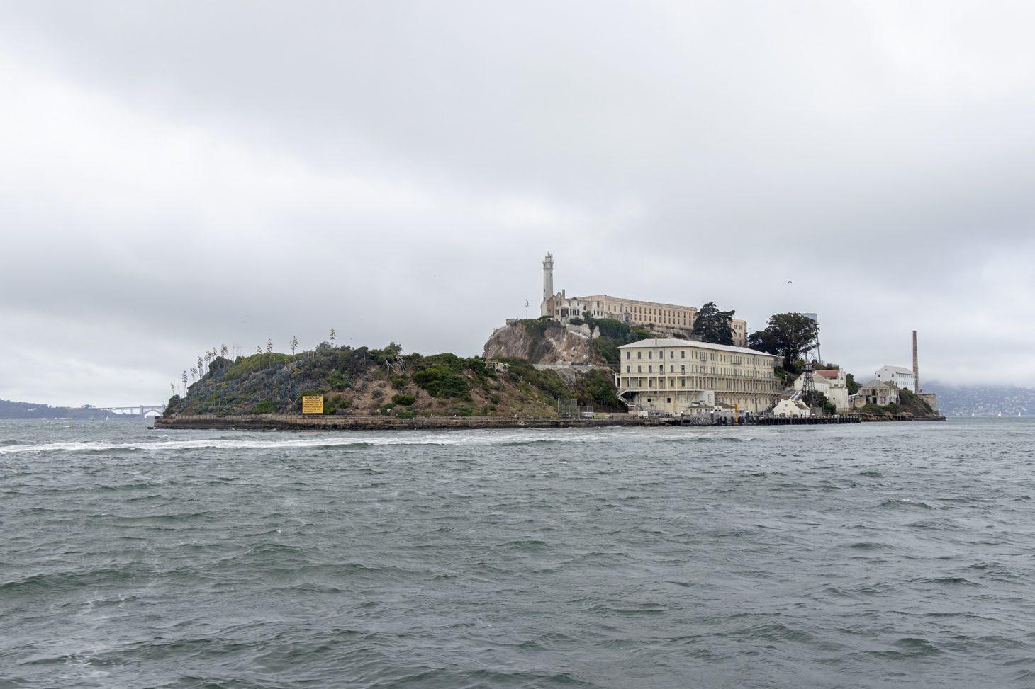 Alcatraz Prison on Alcatraz island