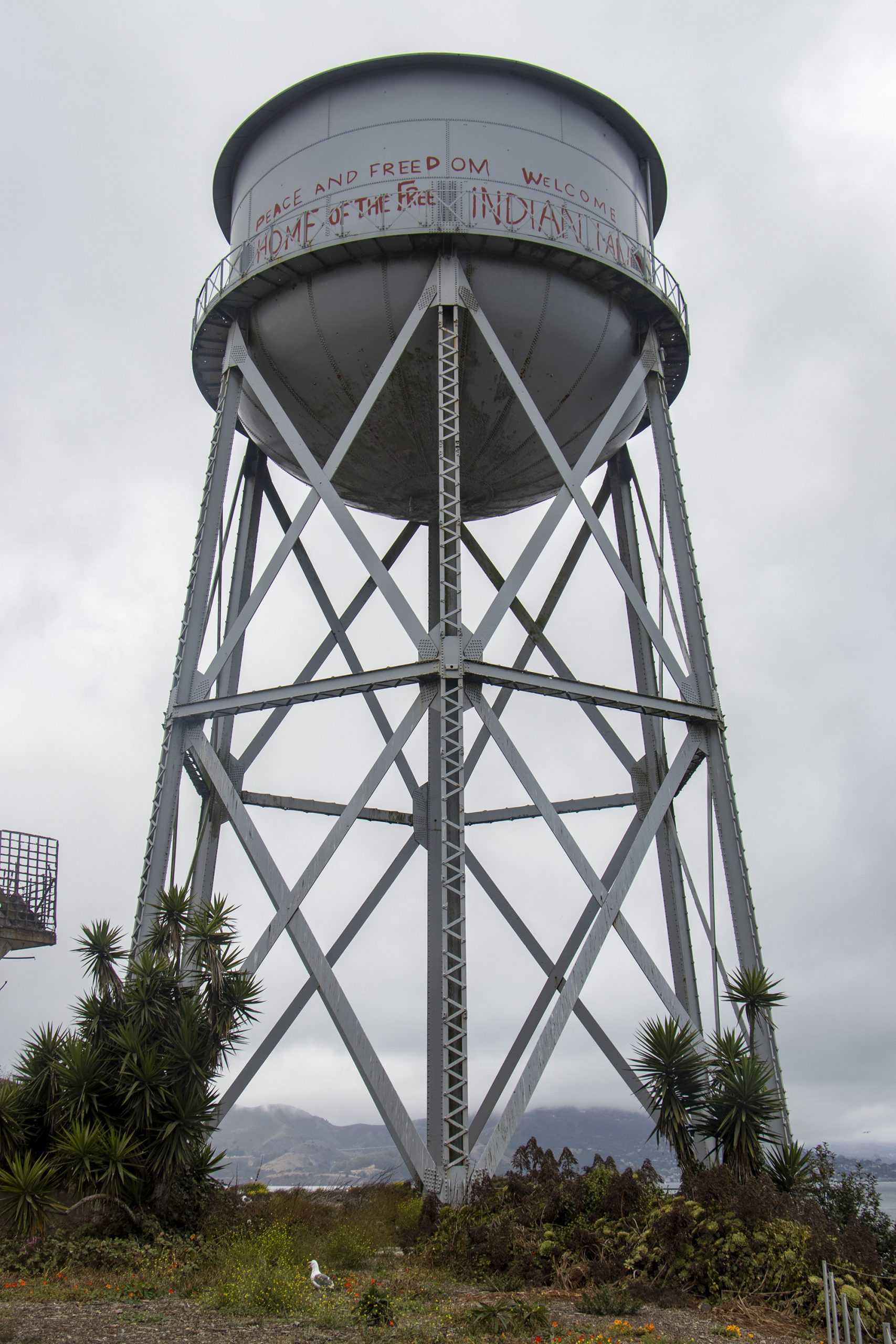 Alzactraz water tower - Indian occupation