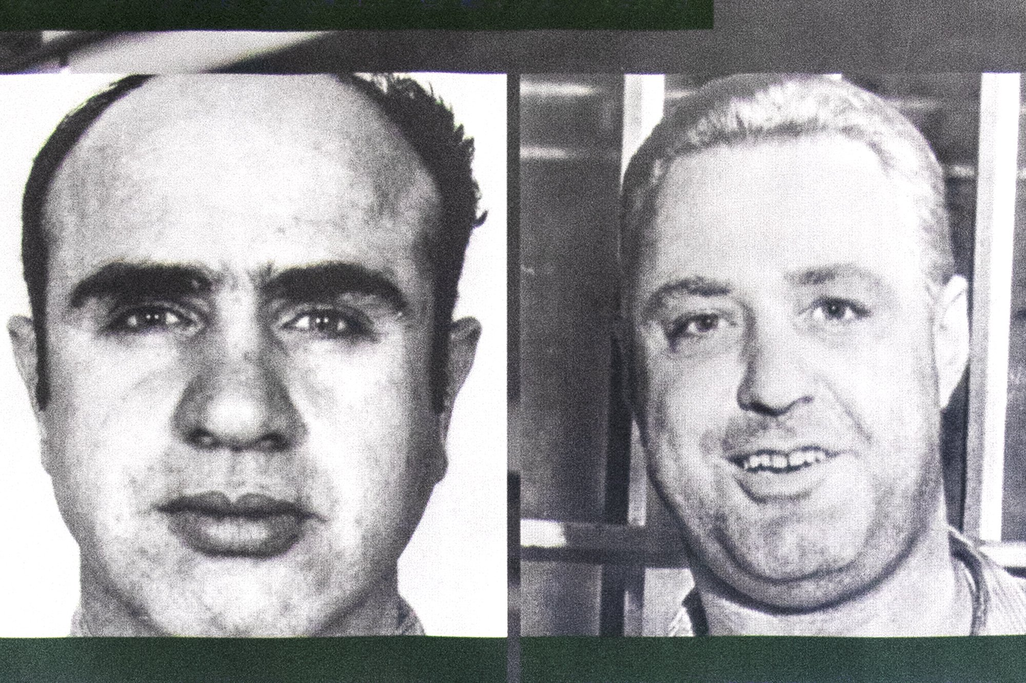 Famous Alcatraz prisoners - Al Capone and Machine Gun Kelly