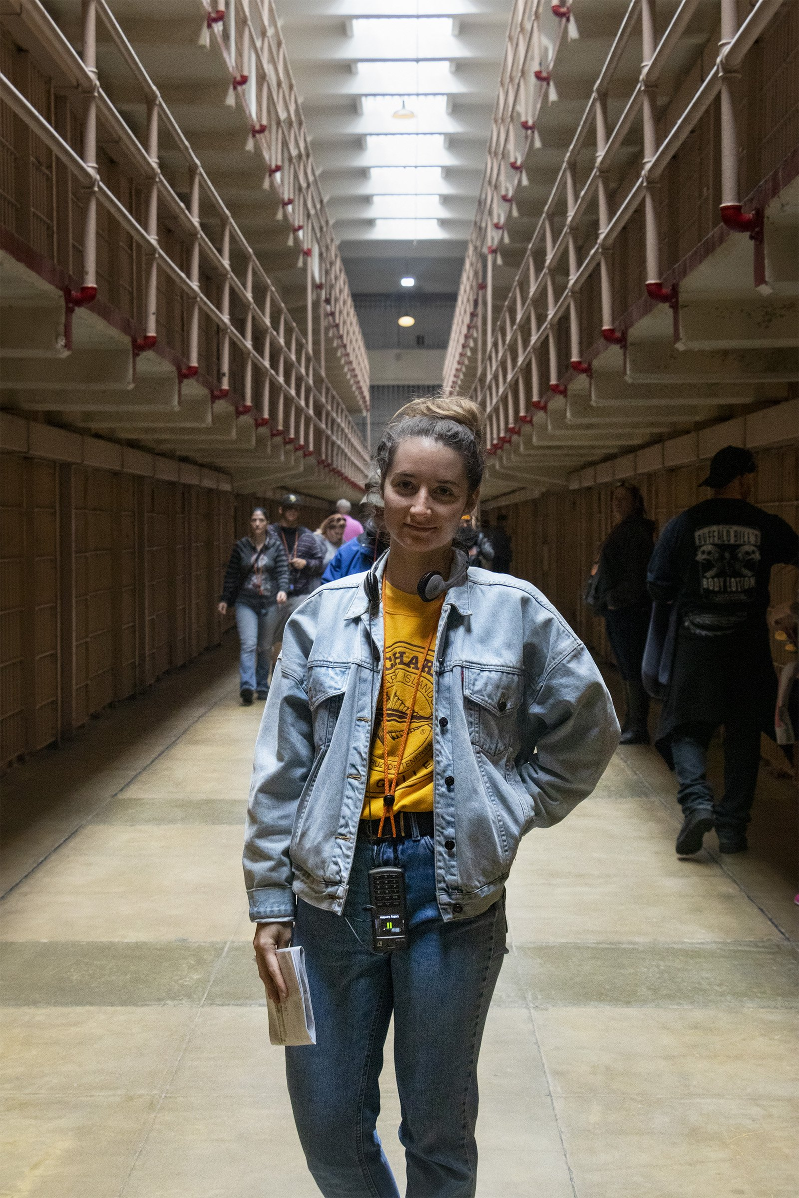 In Alcatraz prison