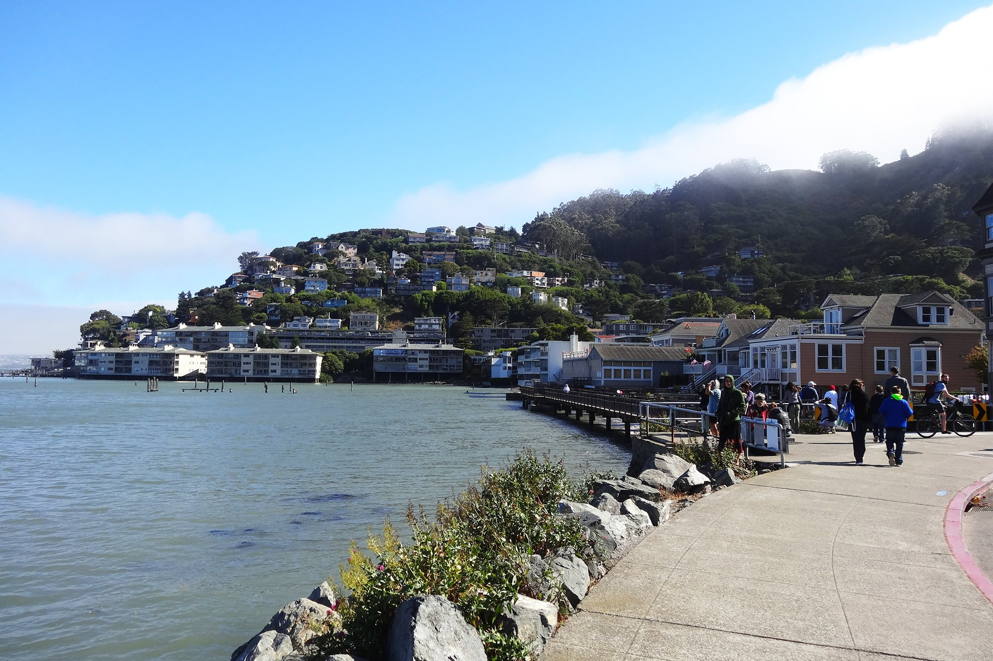 San Francisco to Sausalito bike ride