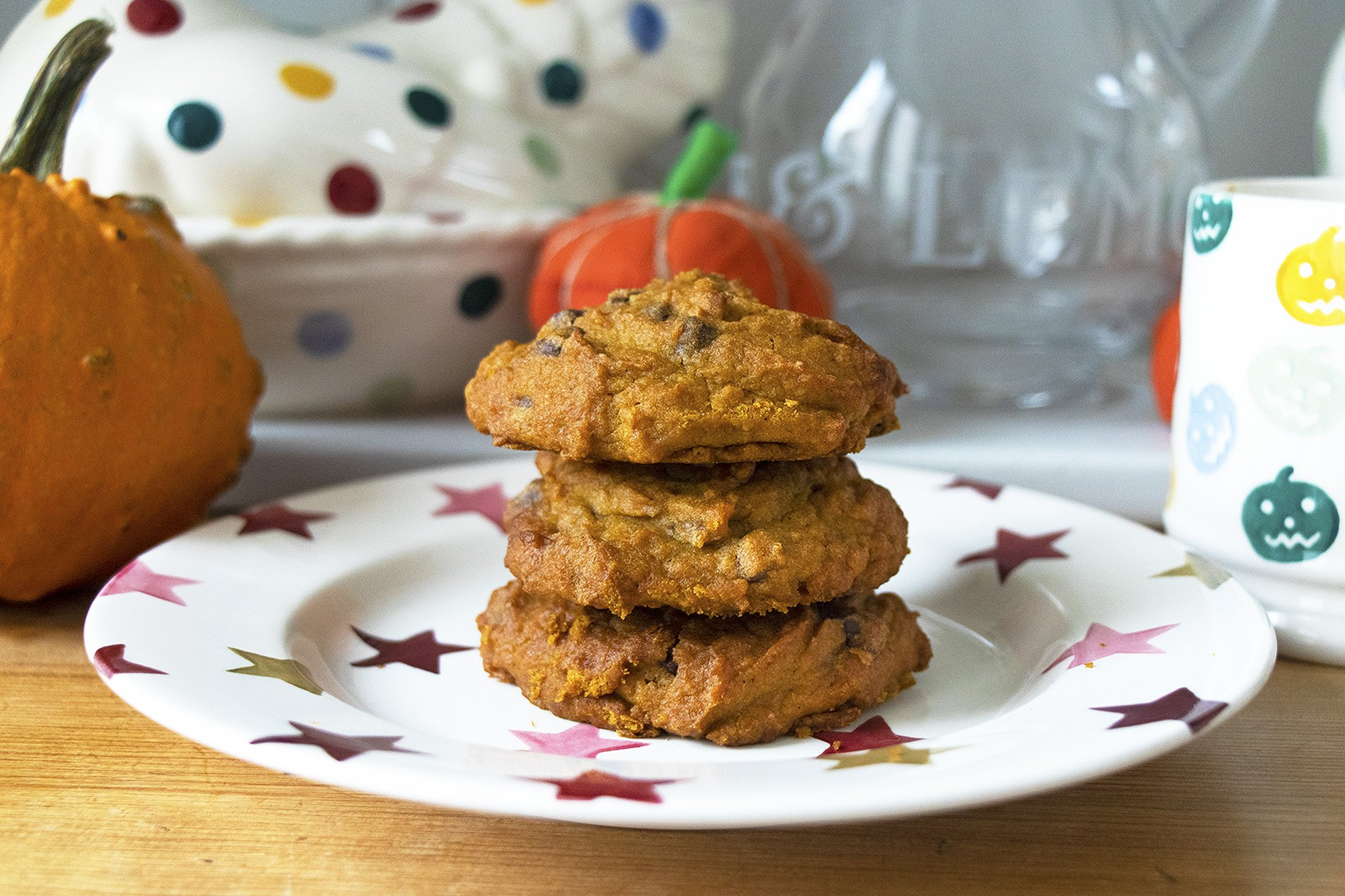Best chocolate chip pumpkin cookies