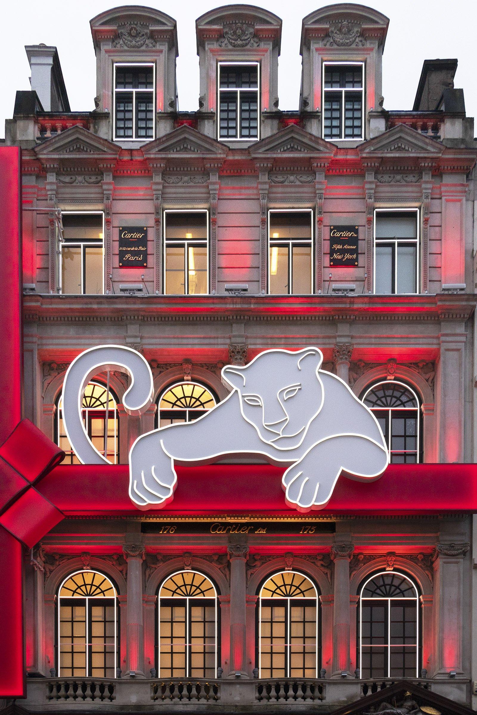 Cartier Christmas lights