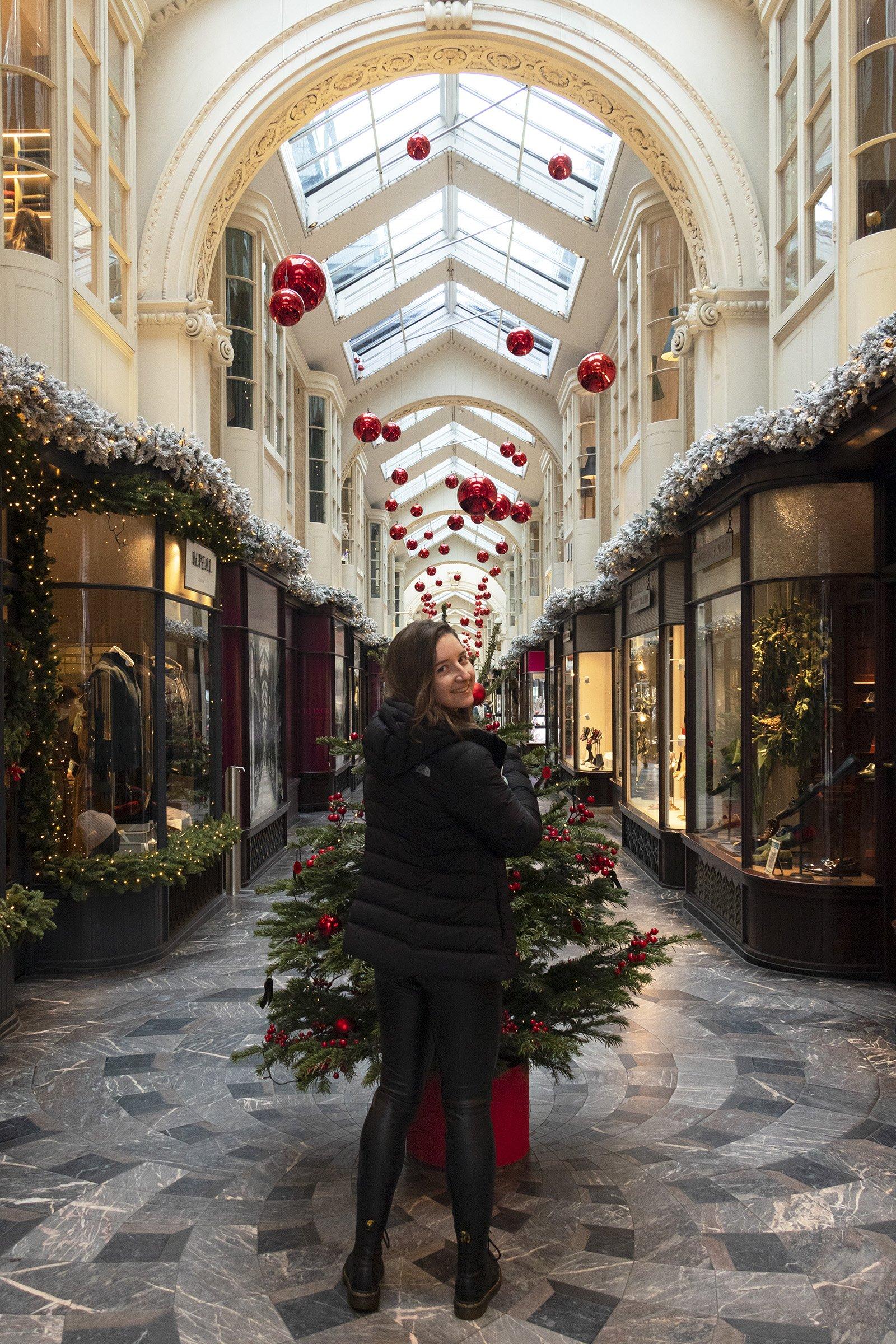 Burlington Arcade at Christmas